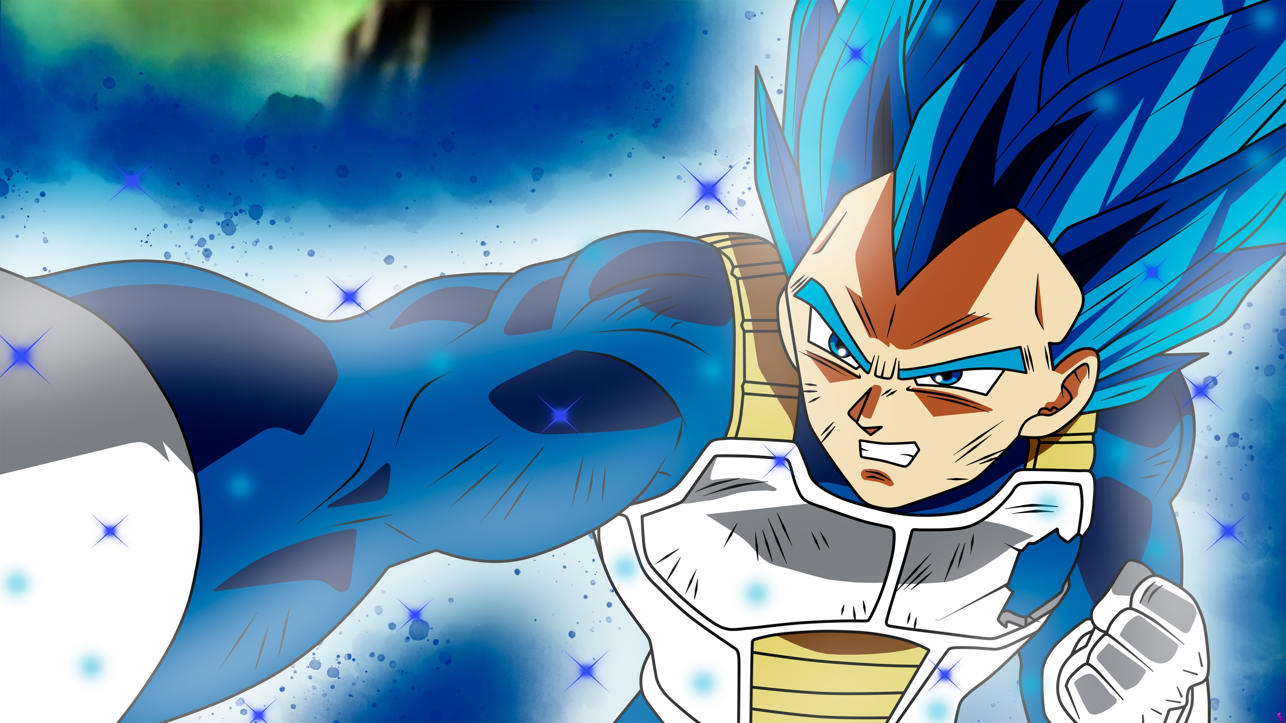 Vegeta Dragon Ball Super Anime Fondo De Pantalla 4k Ultra Hd