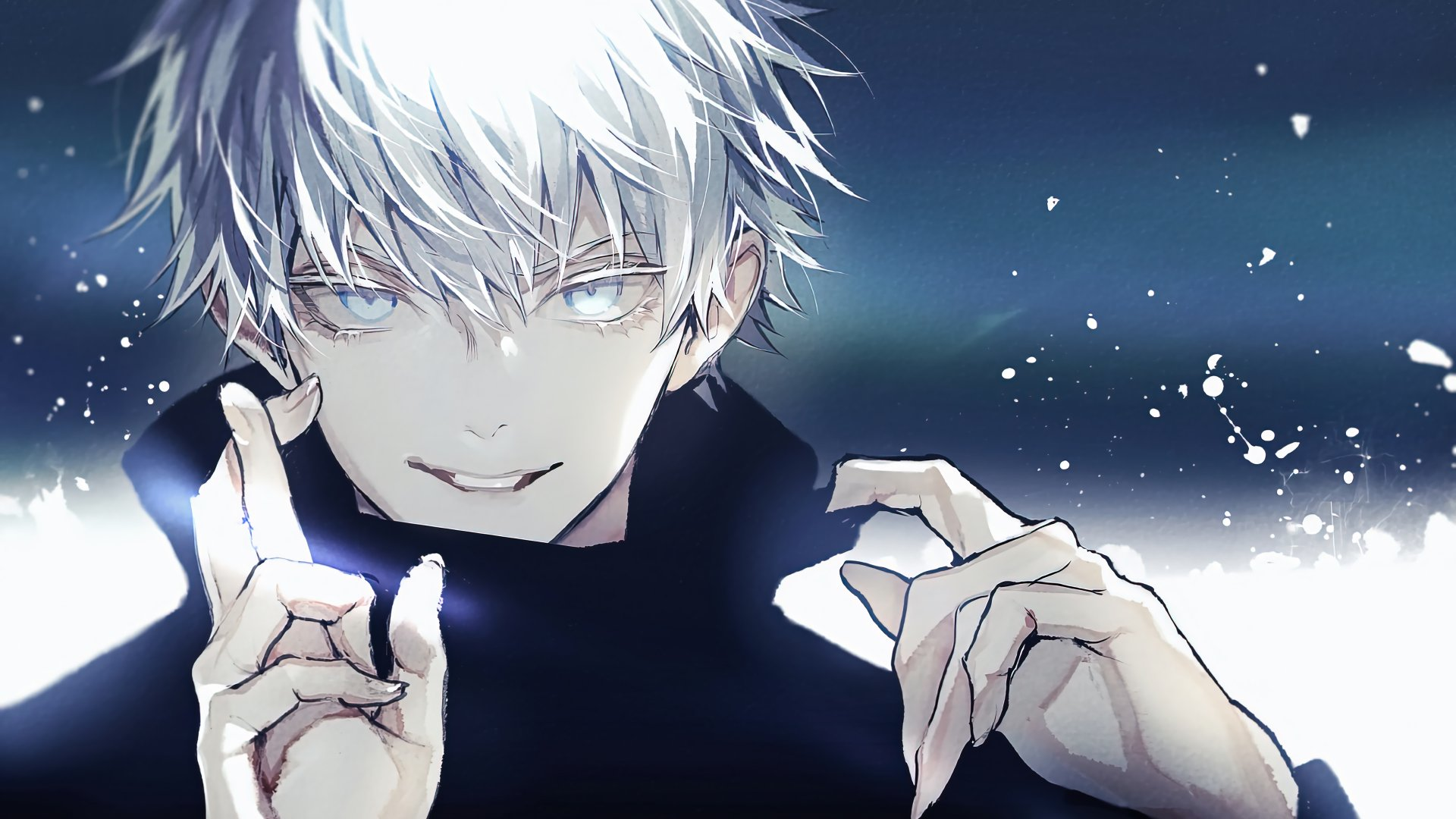 Satoru Gojo de Jujutsu Kaisen Anime Fondo de pantalla 4k ...