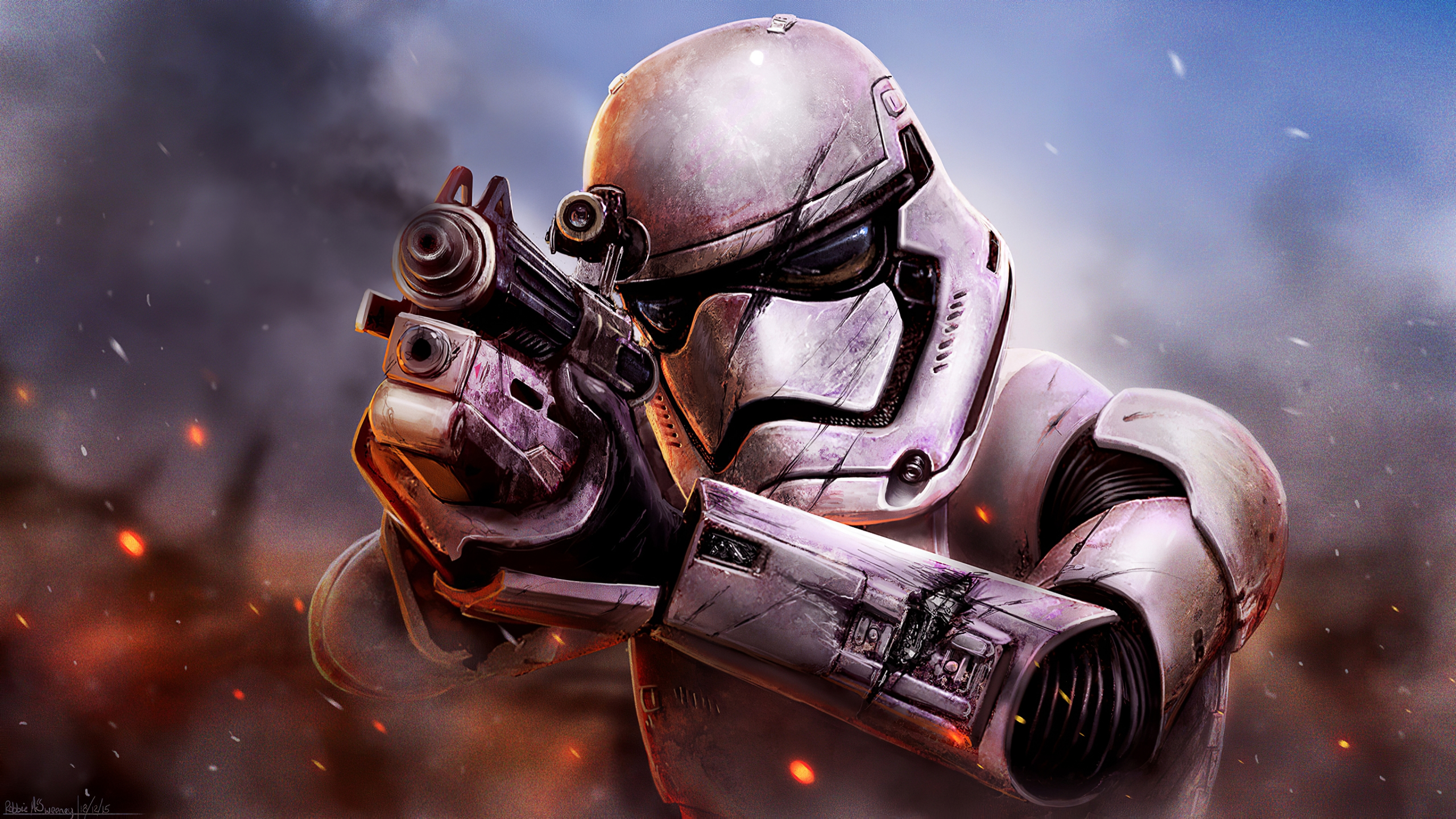 Stormtrooper From Star Wars Battlefront Wallpaper 4k Ultra Hd Id 5226