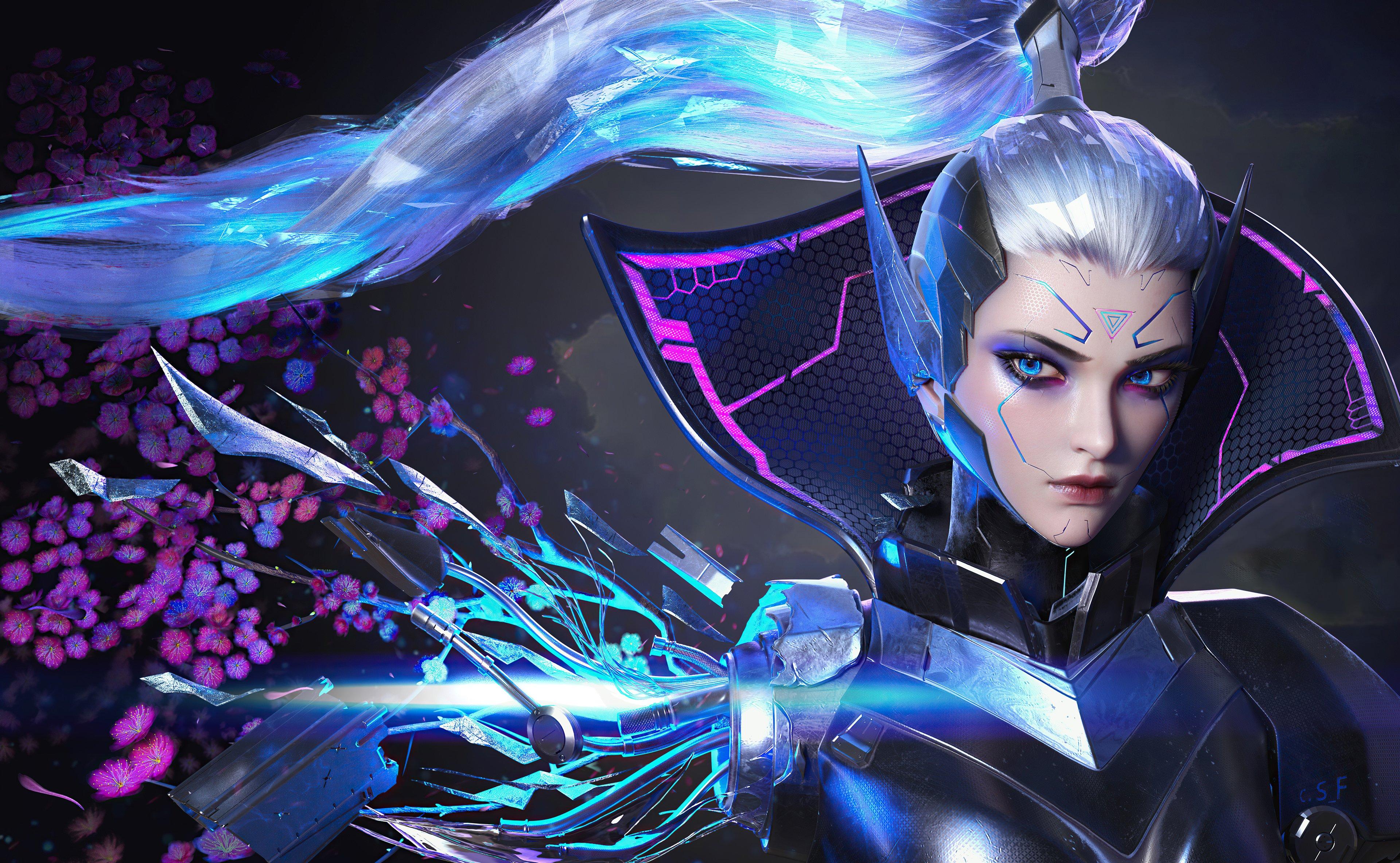 Fondos de pantalla Retrato de Vayne League of Legends
