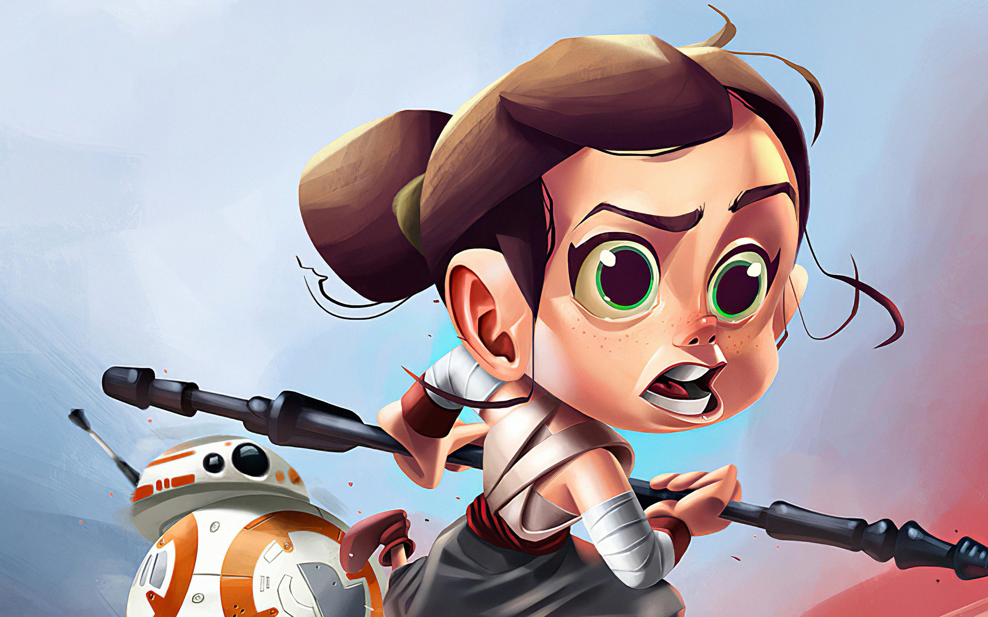 Fondos de pantalla Rey de Star wars en caricatura