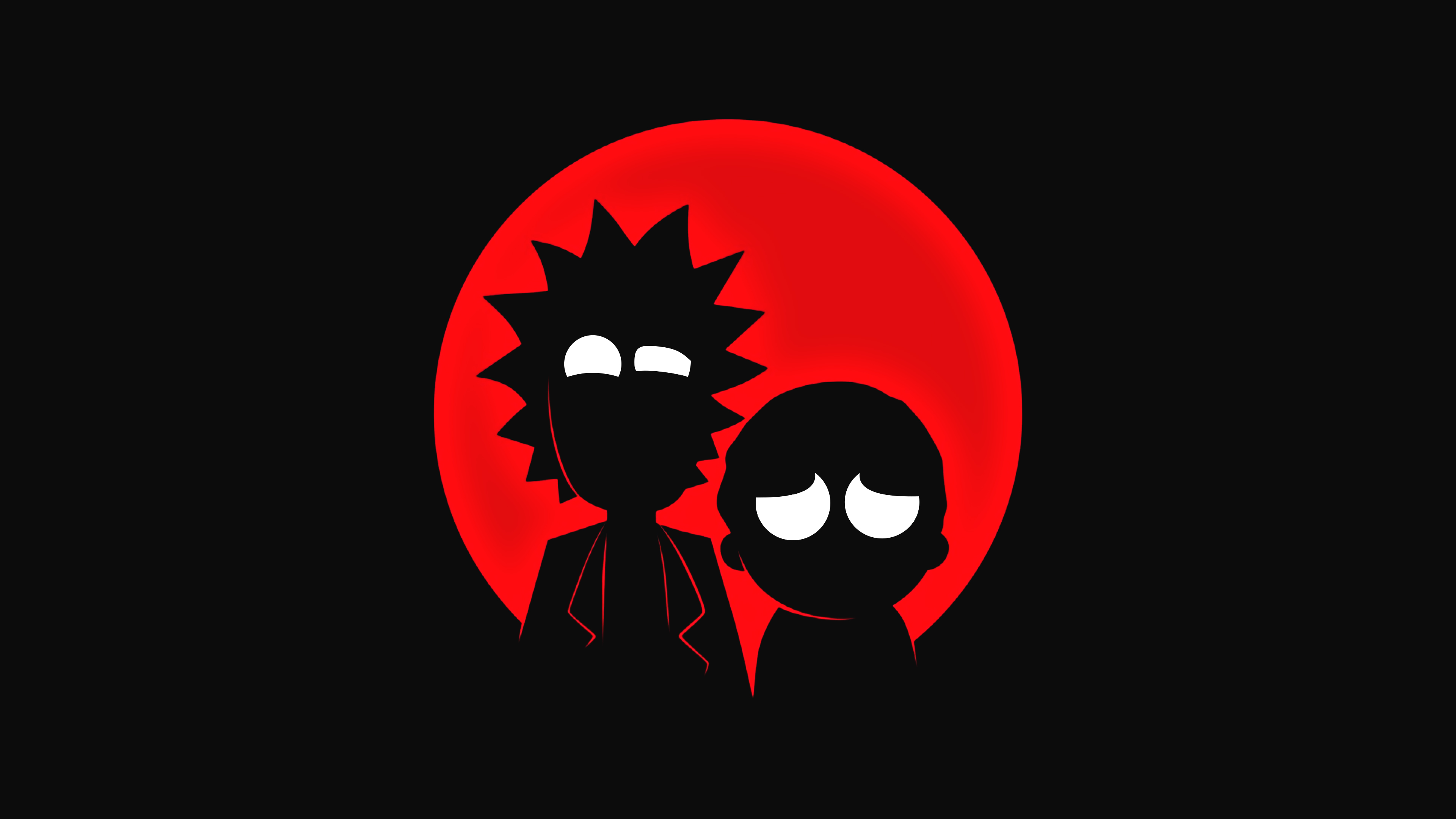 Fondos de pantalla Rick and Morty Minimalista