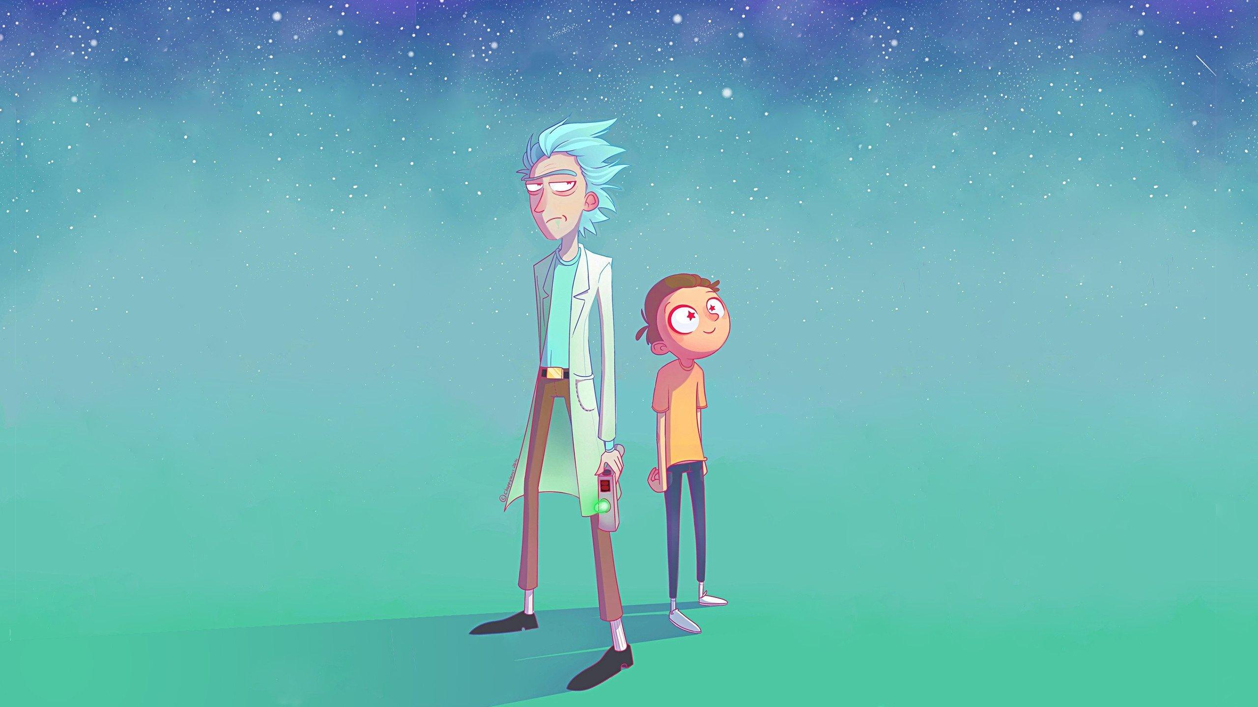 Fondos de pantalla Rick y Morty