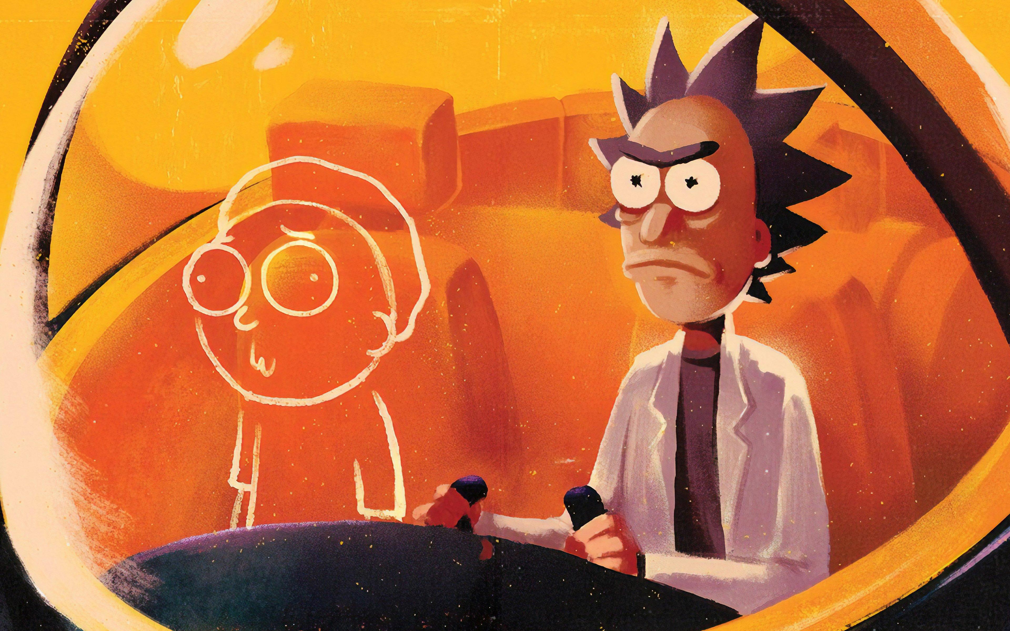 Fondos de pantalla Rick y Morty Arte