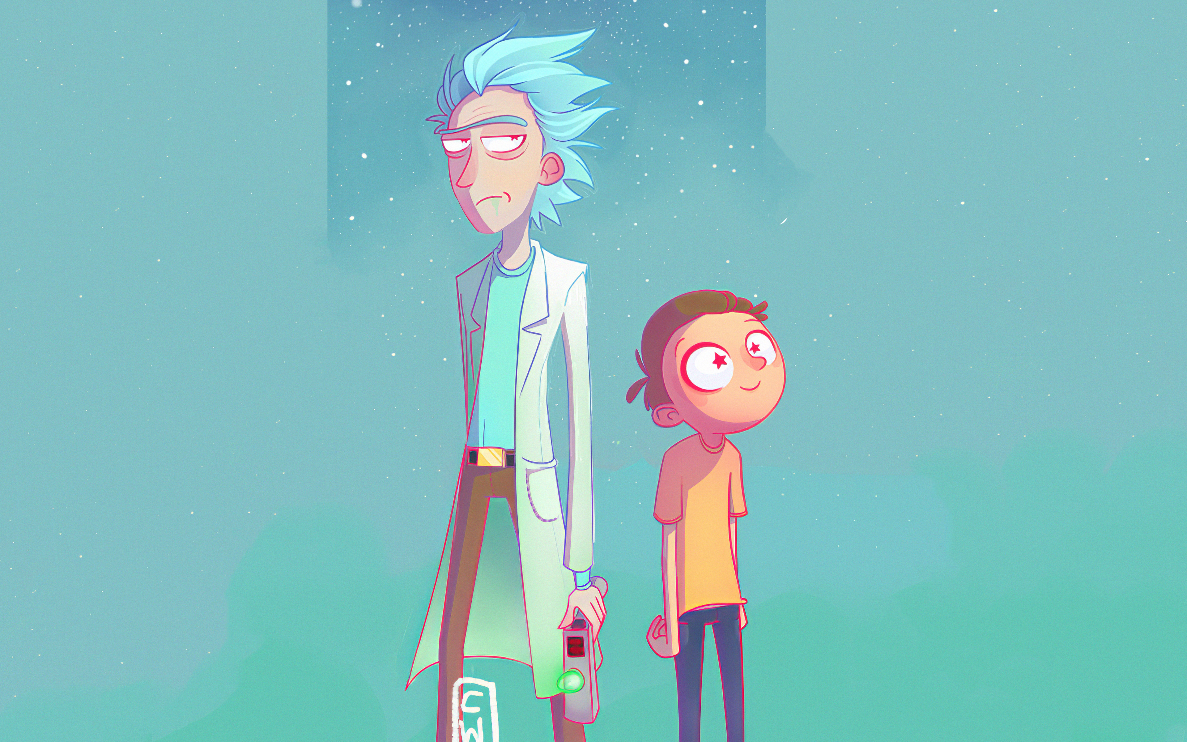 Rick And Morty Artwork Wallpaper 4k Ultra Hd Id 4711