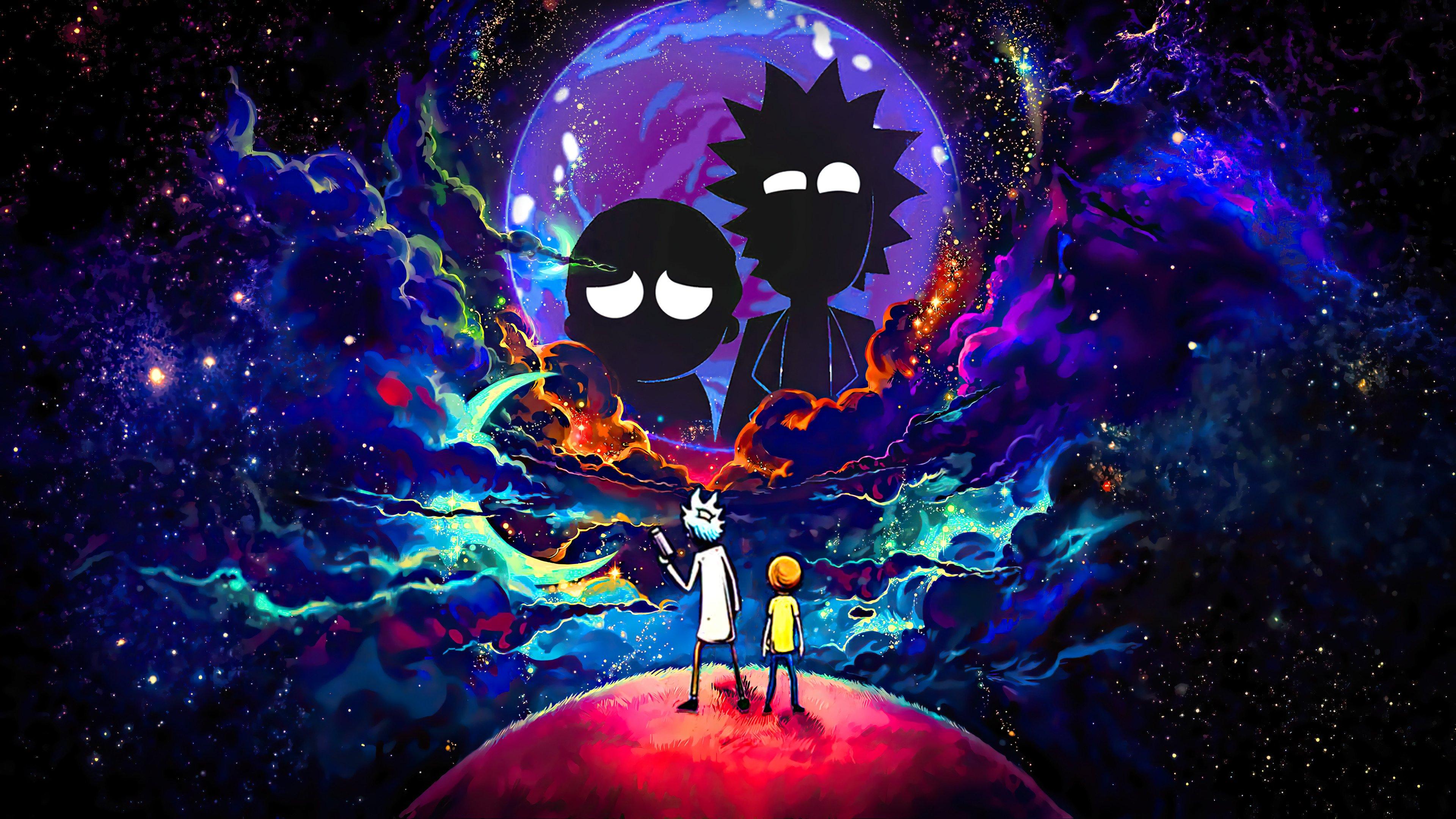 Fondos de pantalla Rick y Morty Fanart 2020