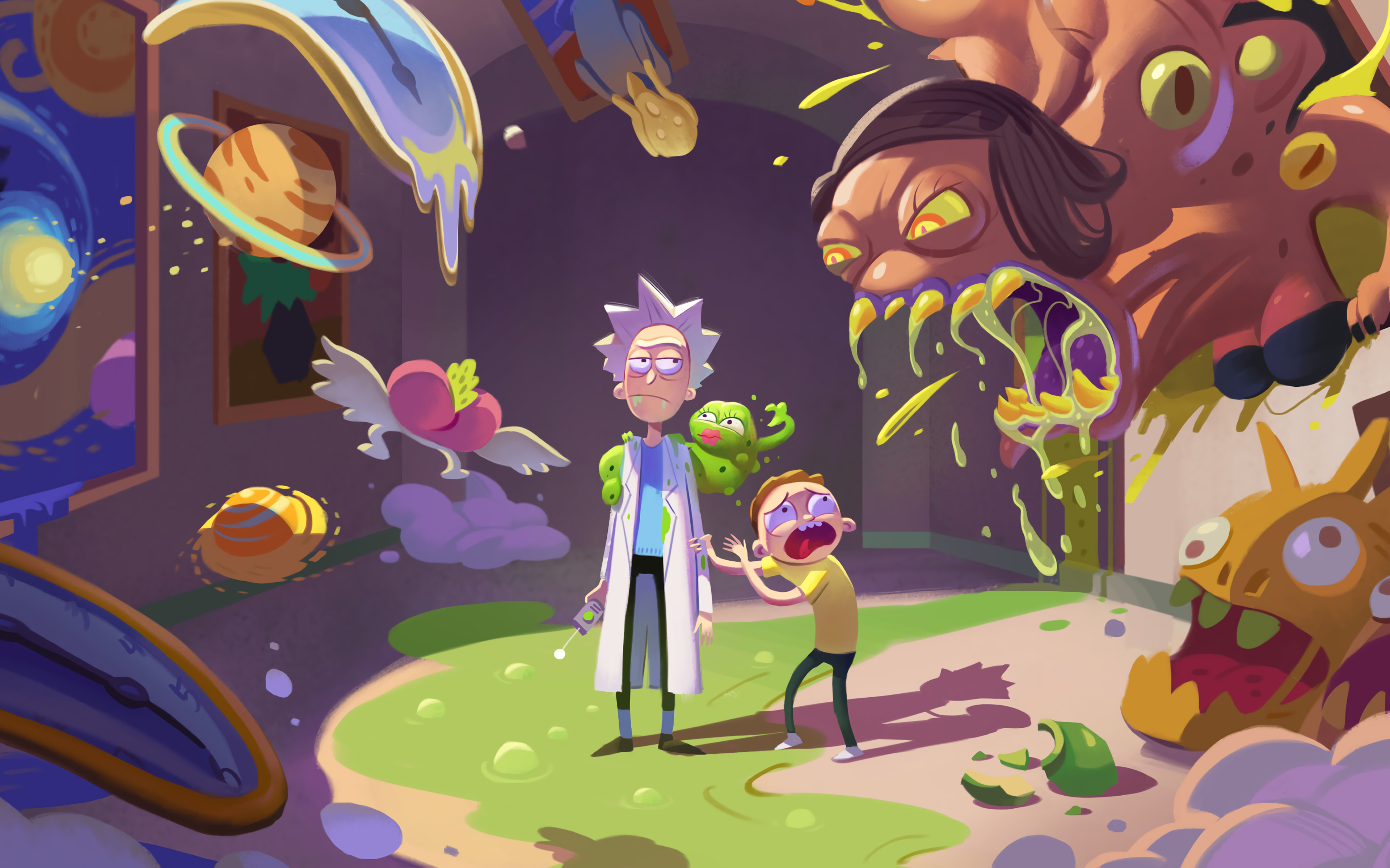 Rick And Morty Season 4 Wallpaper 4k Ultra Hd Id 4114