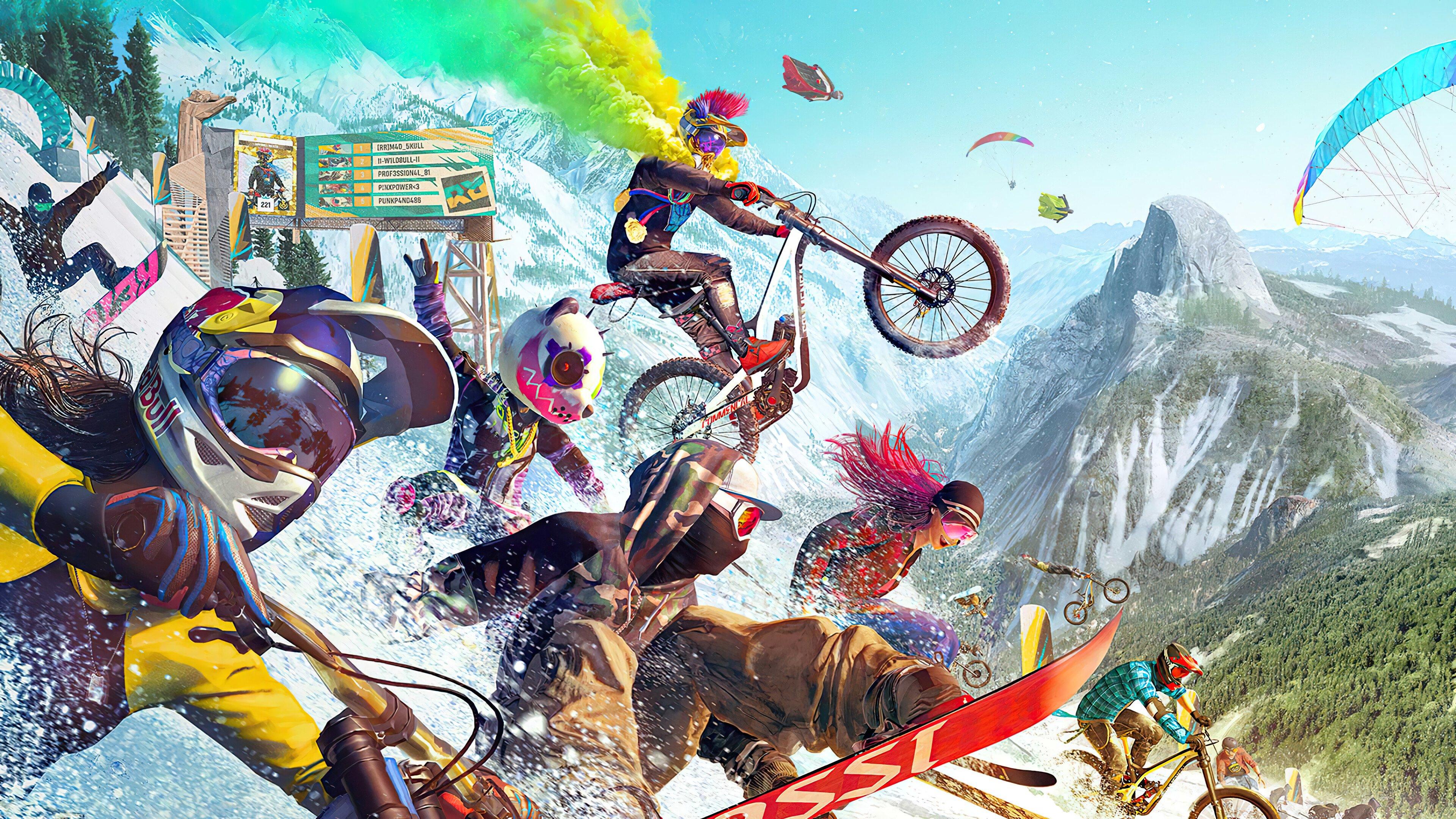 Fondos de pantalla Riders Republic Extreme Sports