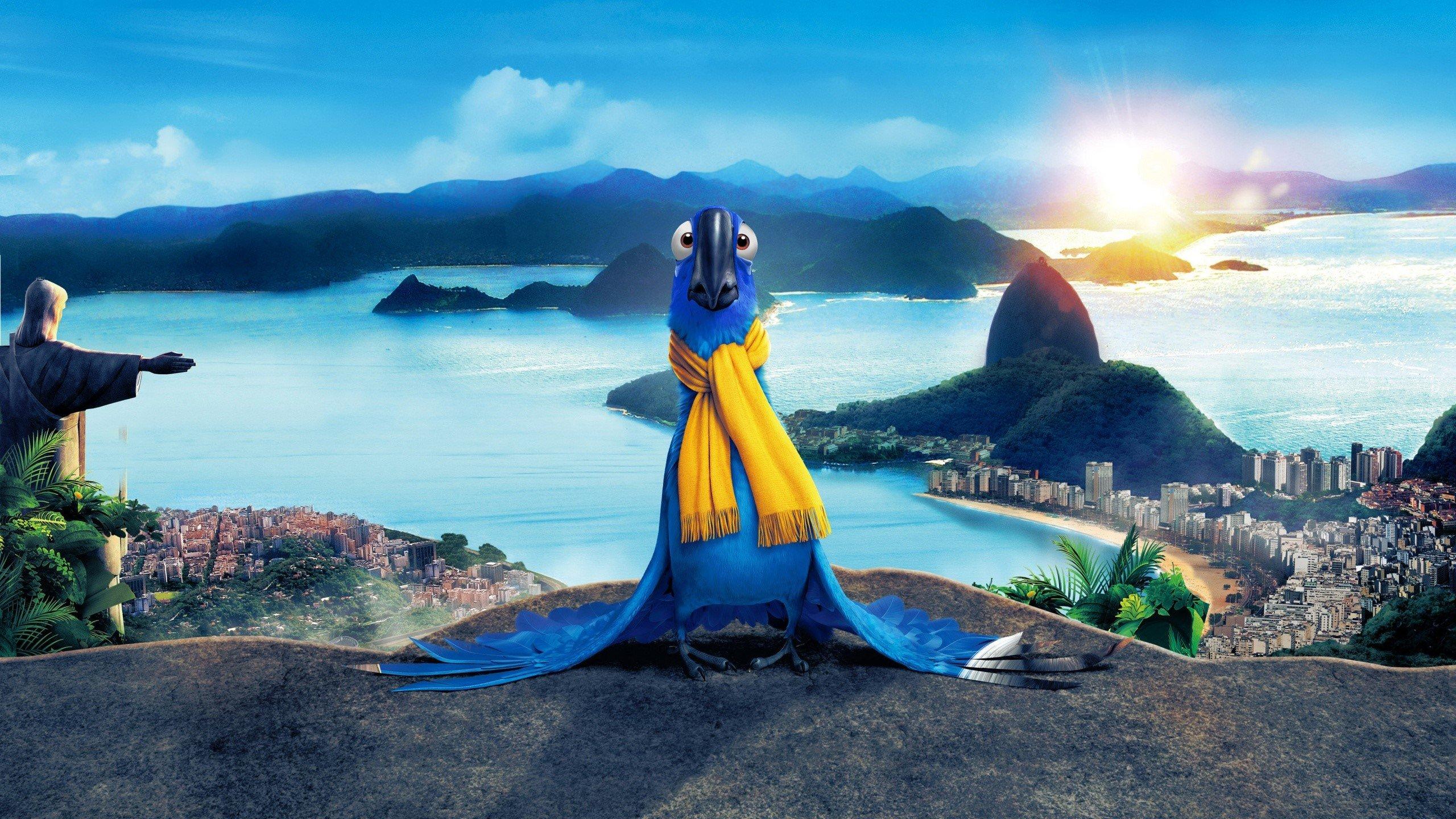 Fondo de pantalla de Rio en Blu Imágenes
