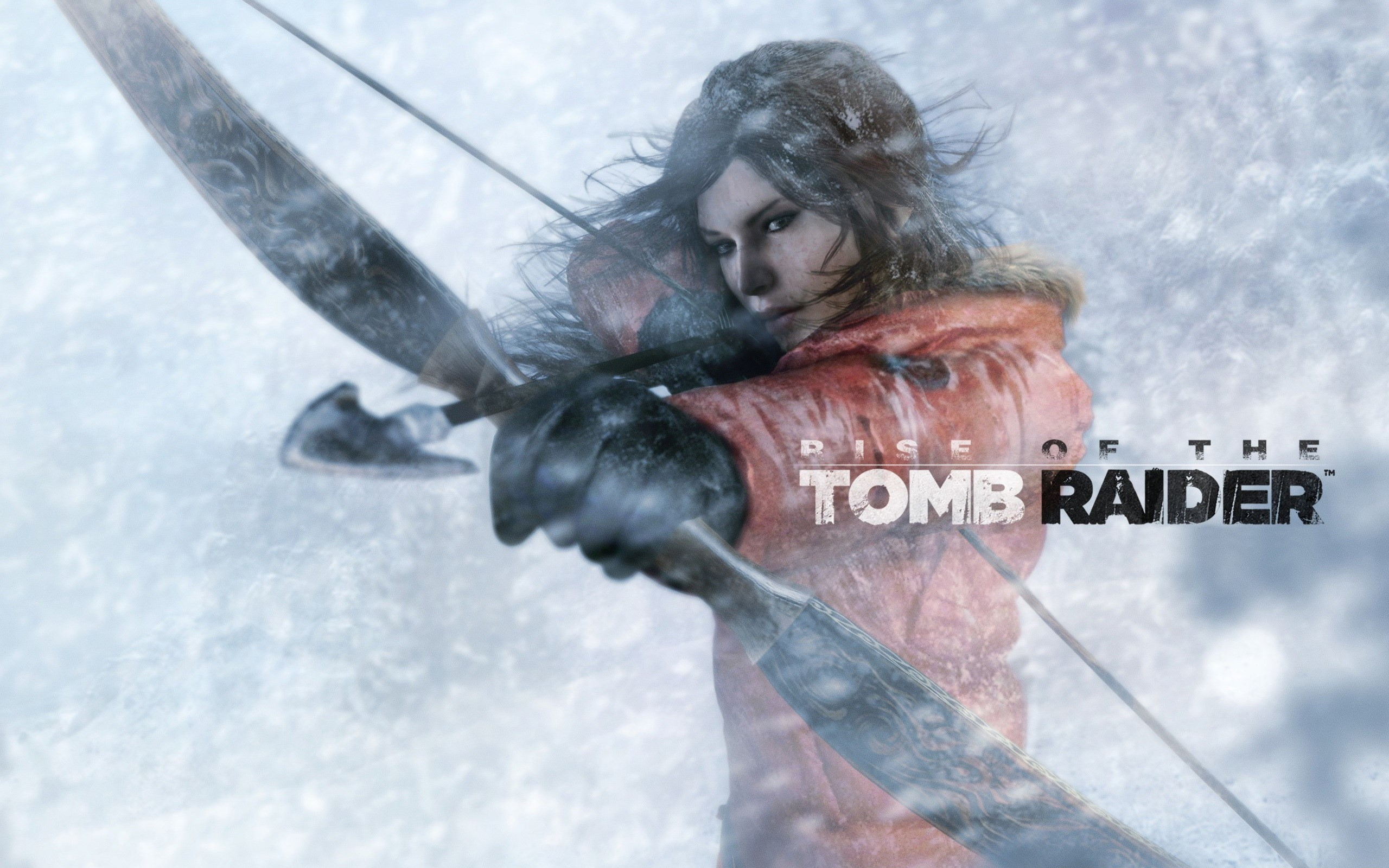 Wallpaper Rise Of The Tomb Raider in snow