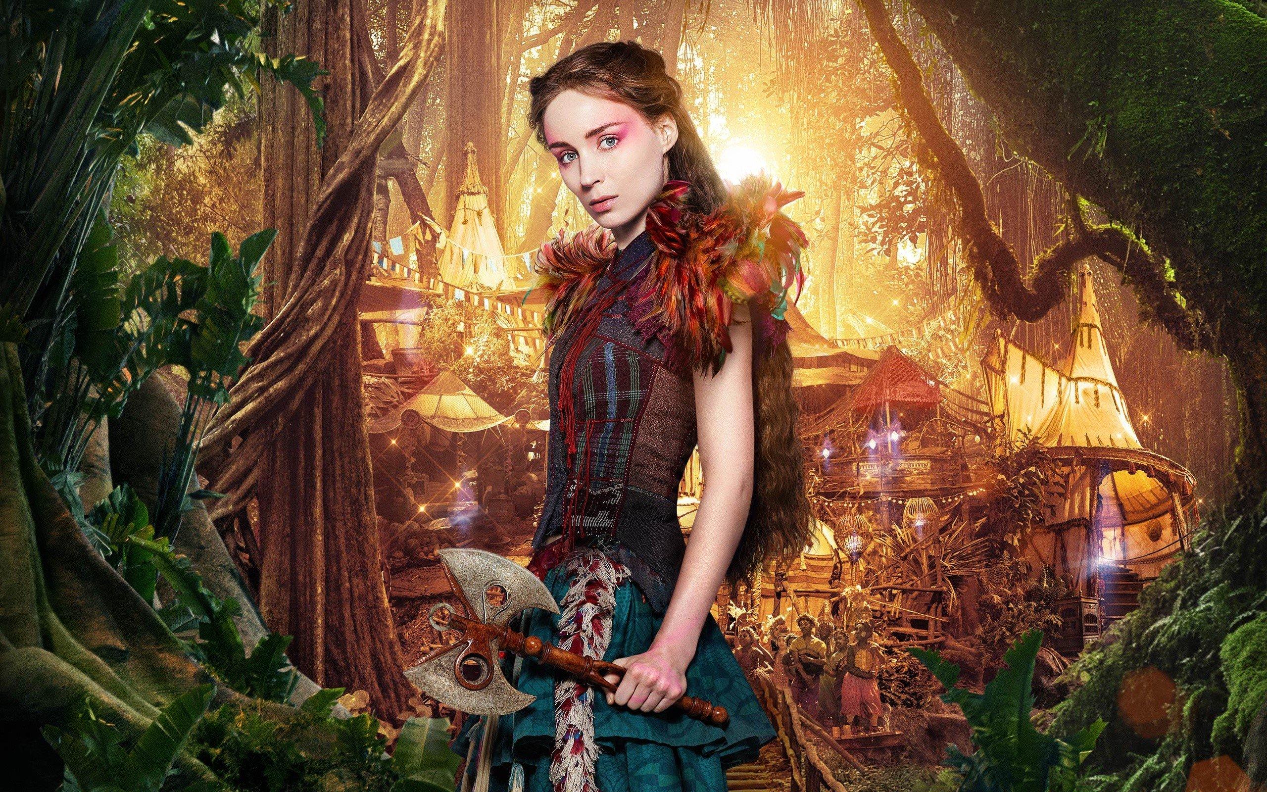 Fondo de pantalla de Rooney Mara como Tigrilla en Pan Imágenes