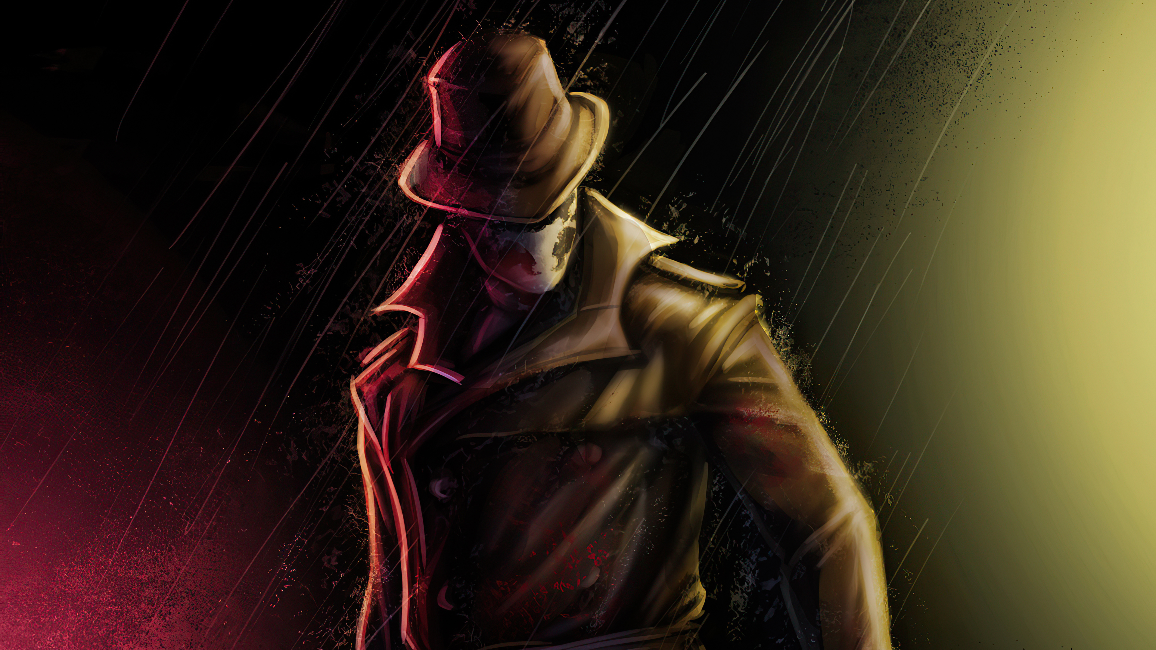Fondos de pantalla Rorschach personaje de Watchmen