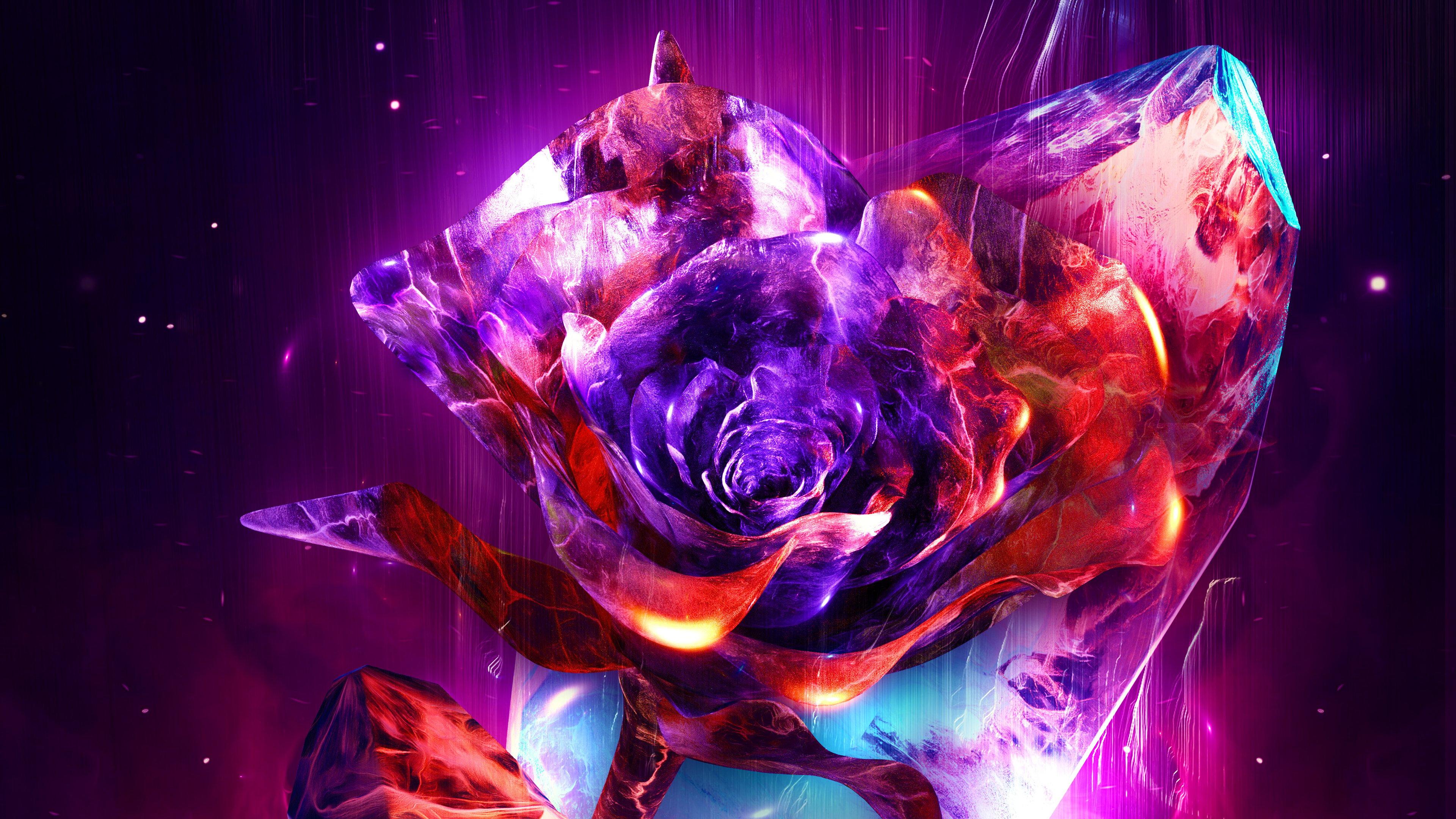 fire abstract Wallpaper 4k Ultra HD ID:4914