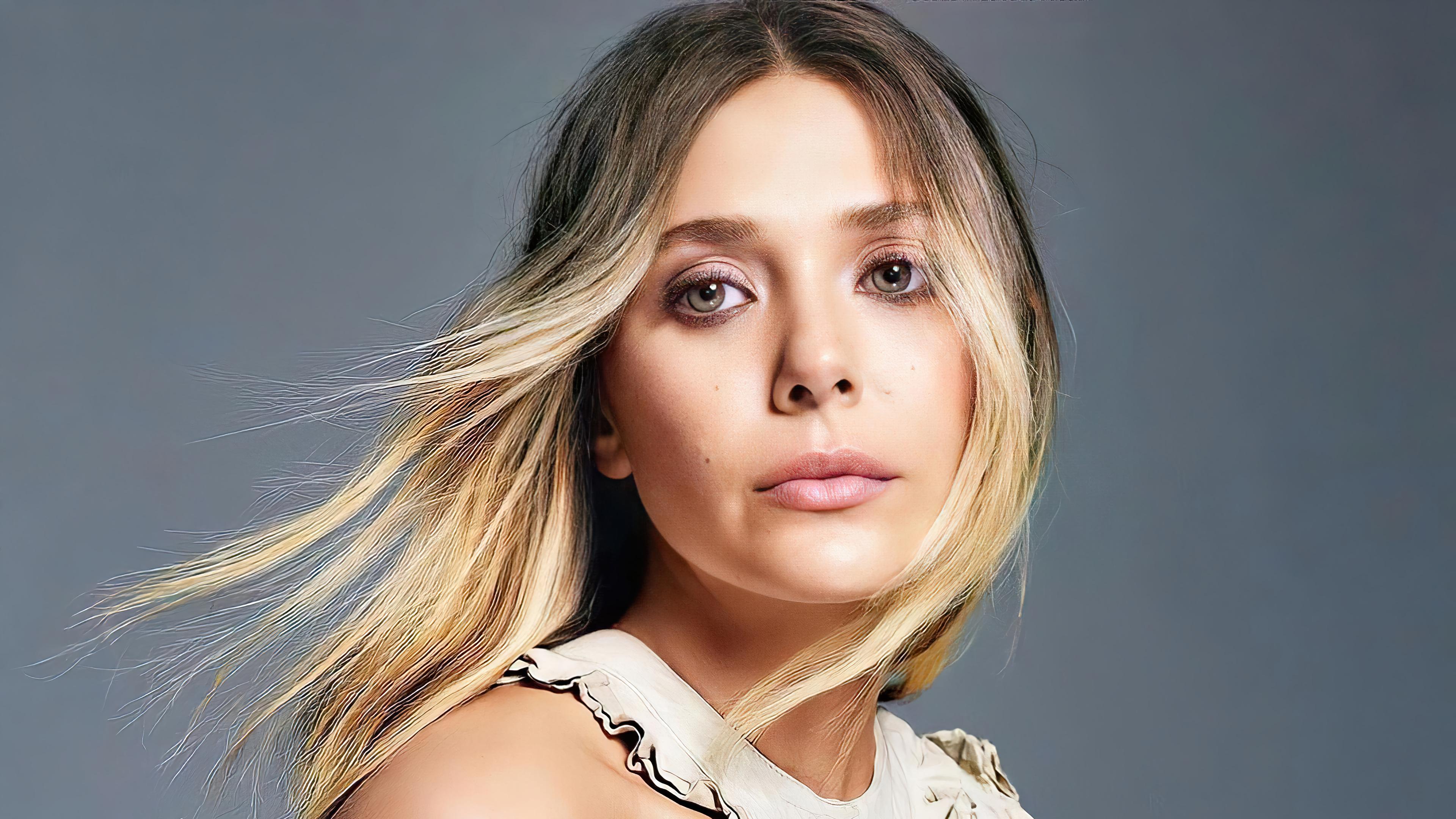 Fondos de pantalla Rostro de Elizabeth Olsen