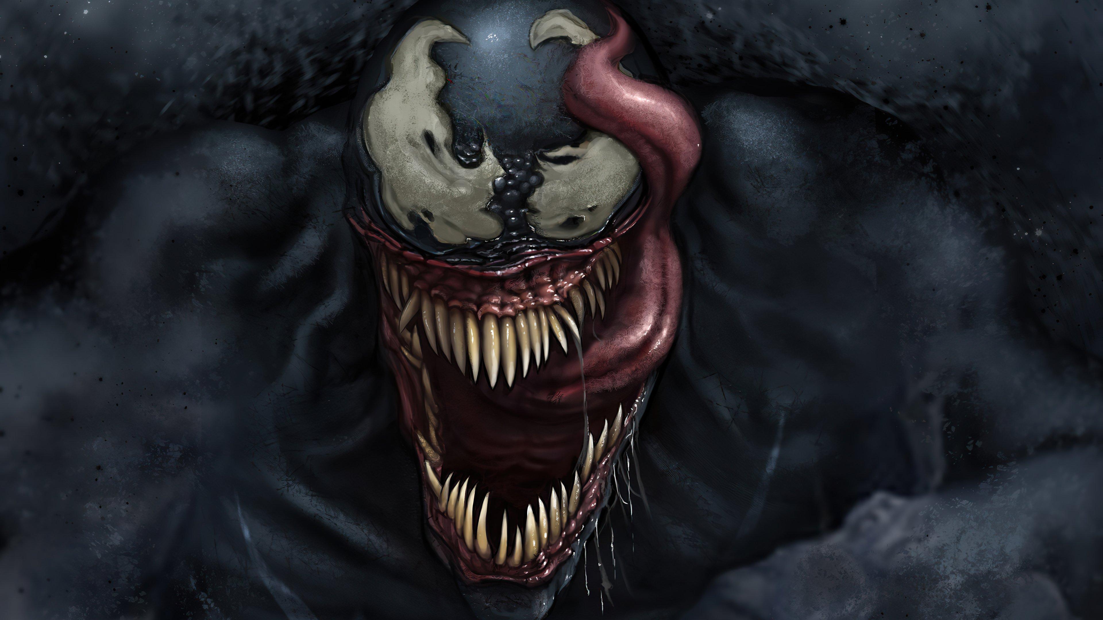 Wallpaper Venom's Face