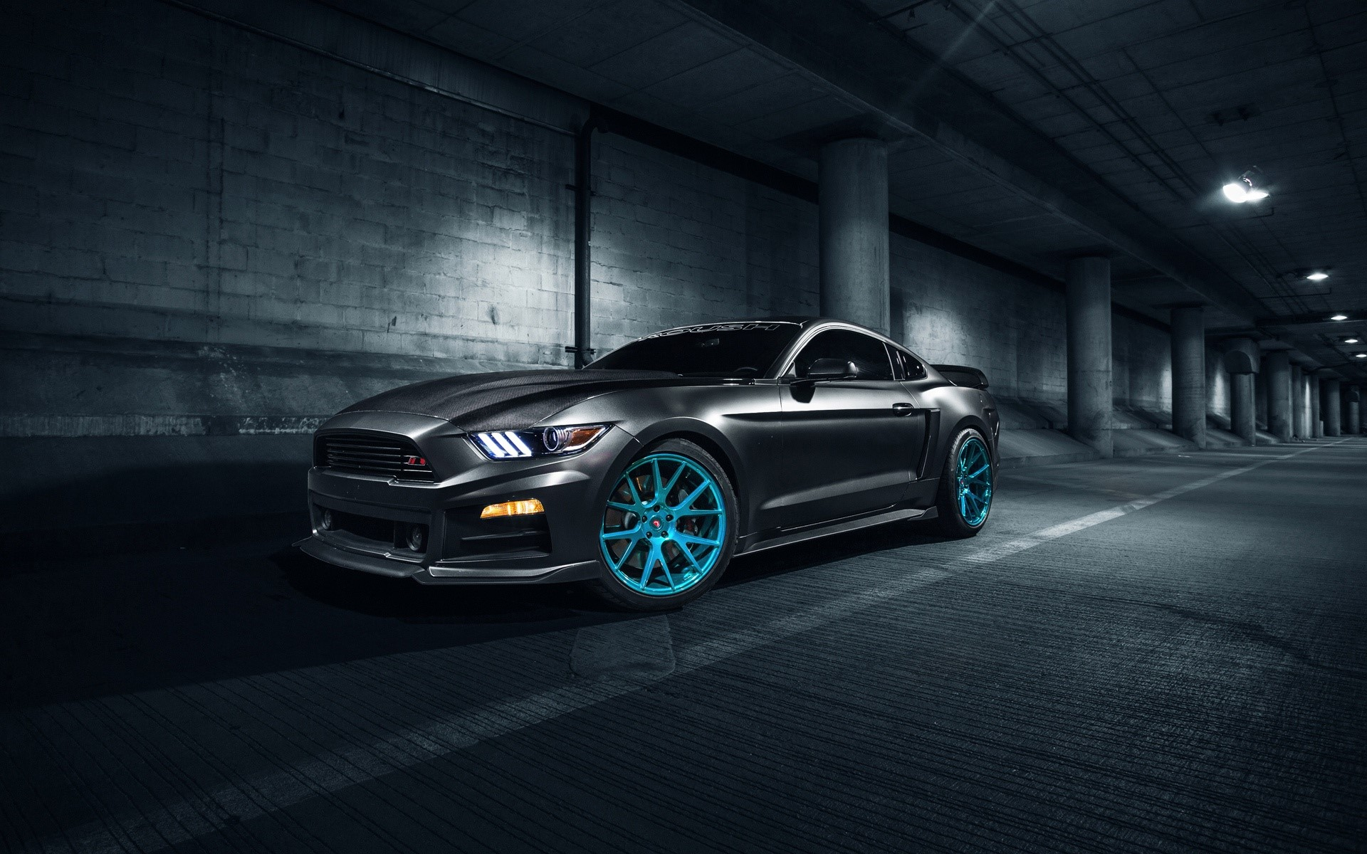 Wallpaper Roush Performance Mustang Vossen Wheels Images
