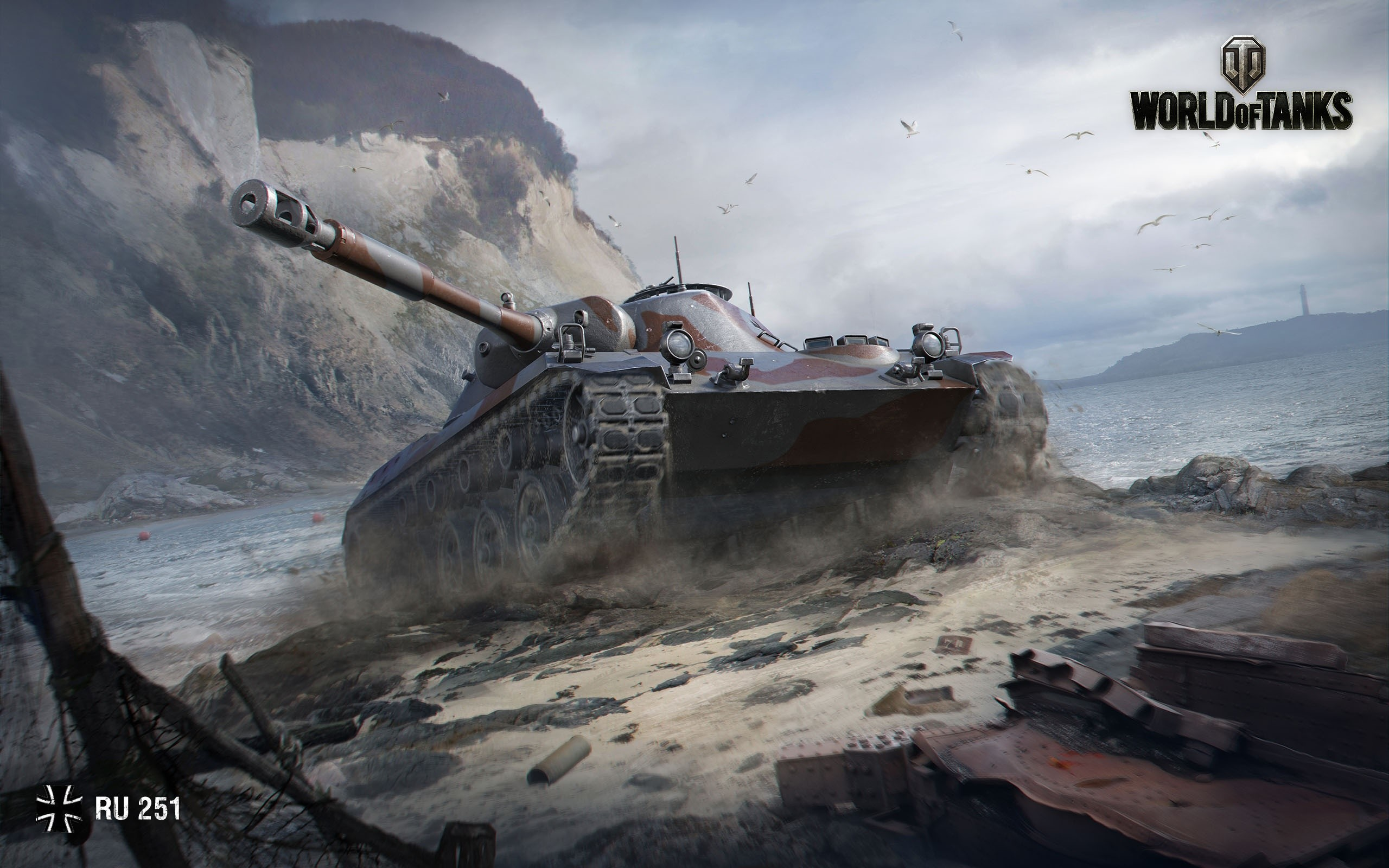 Wallpaper RU 251 from World of Tanks