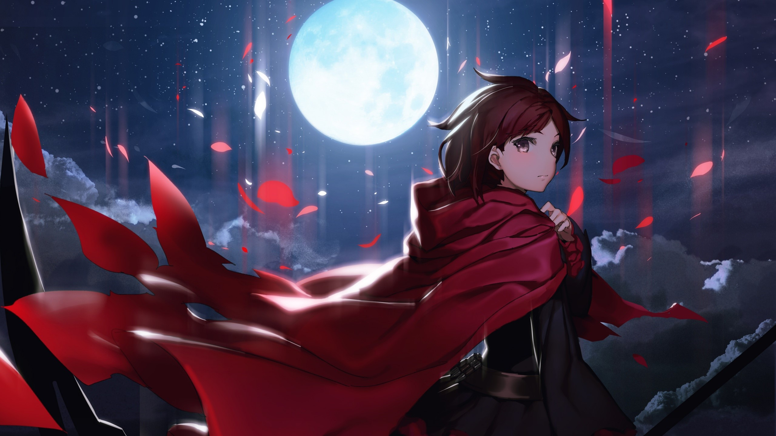 Anime Wallpaper Ruby rose by RWBY