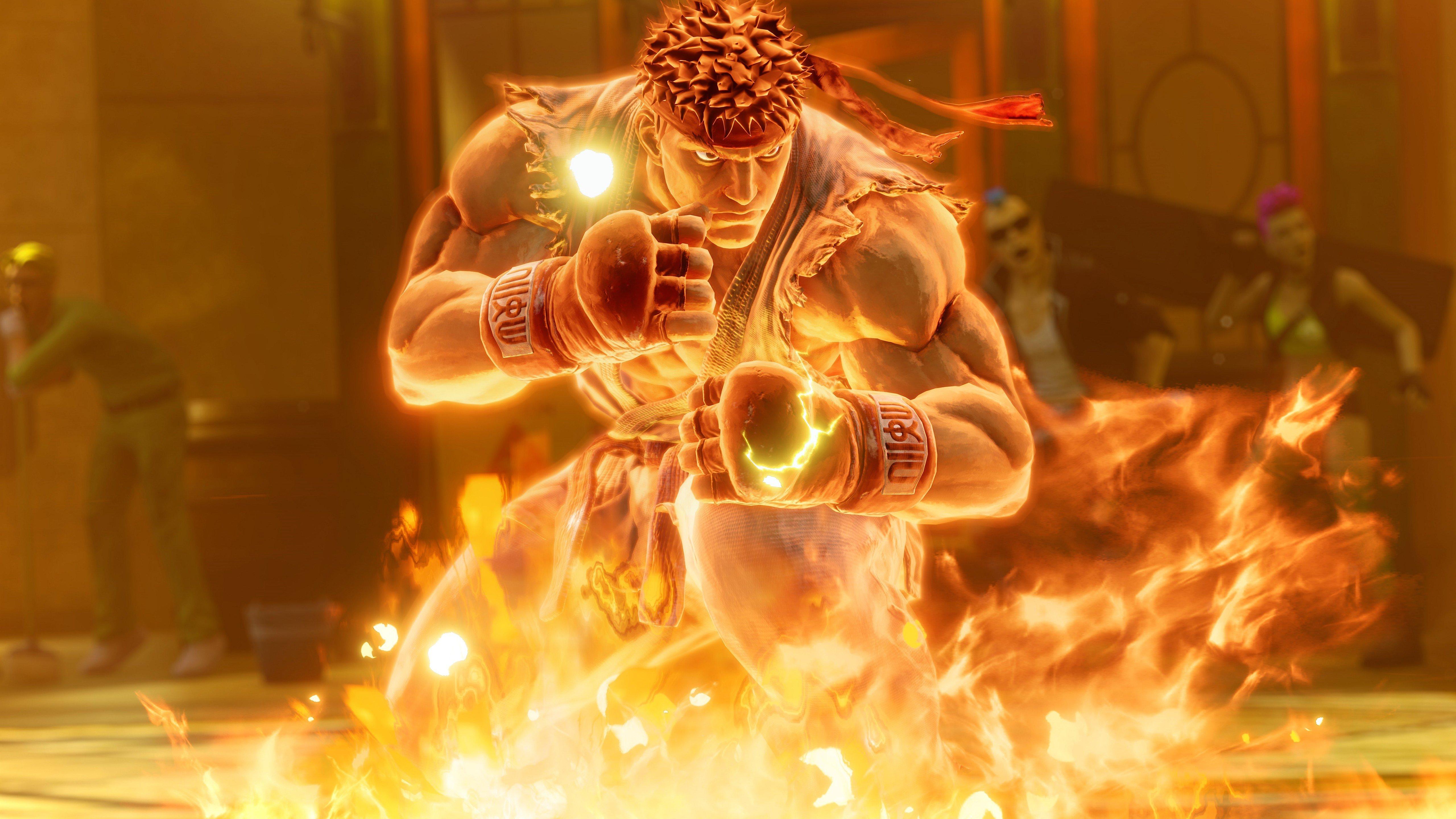 Fondos de pantalla Ryu de Street Fighter
