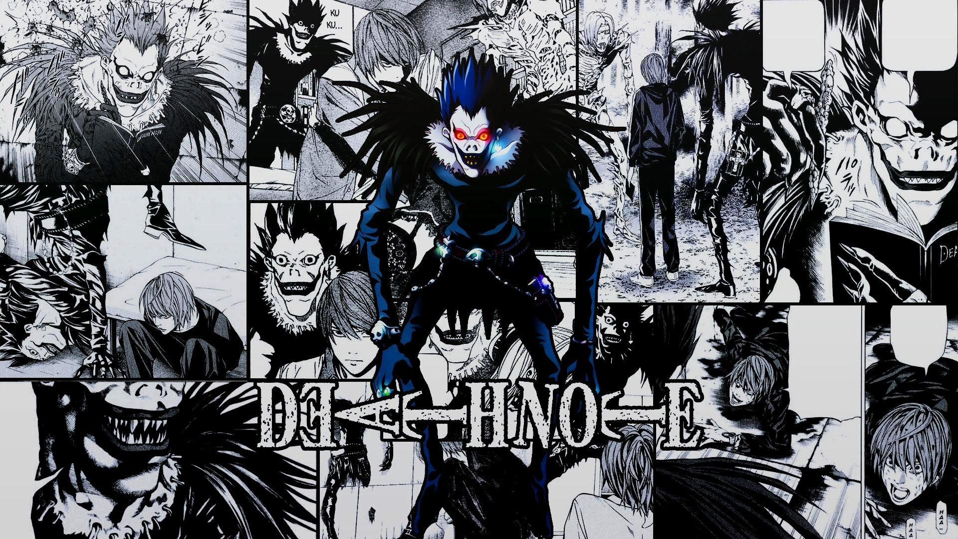 Fondos de pantalla Anime Ryuk de Death Note