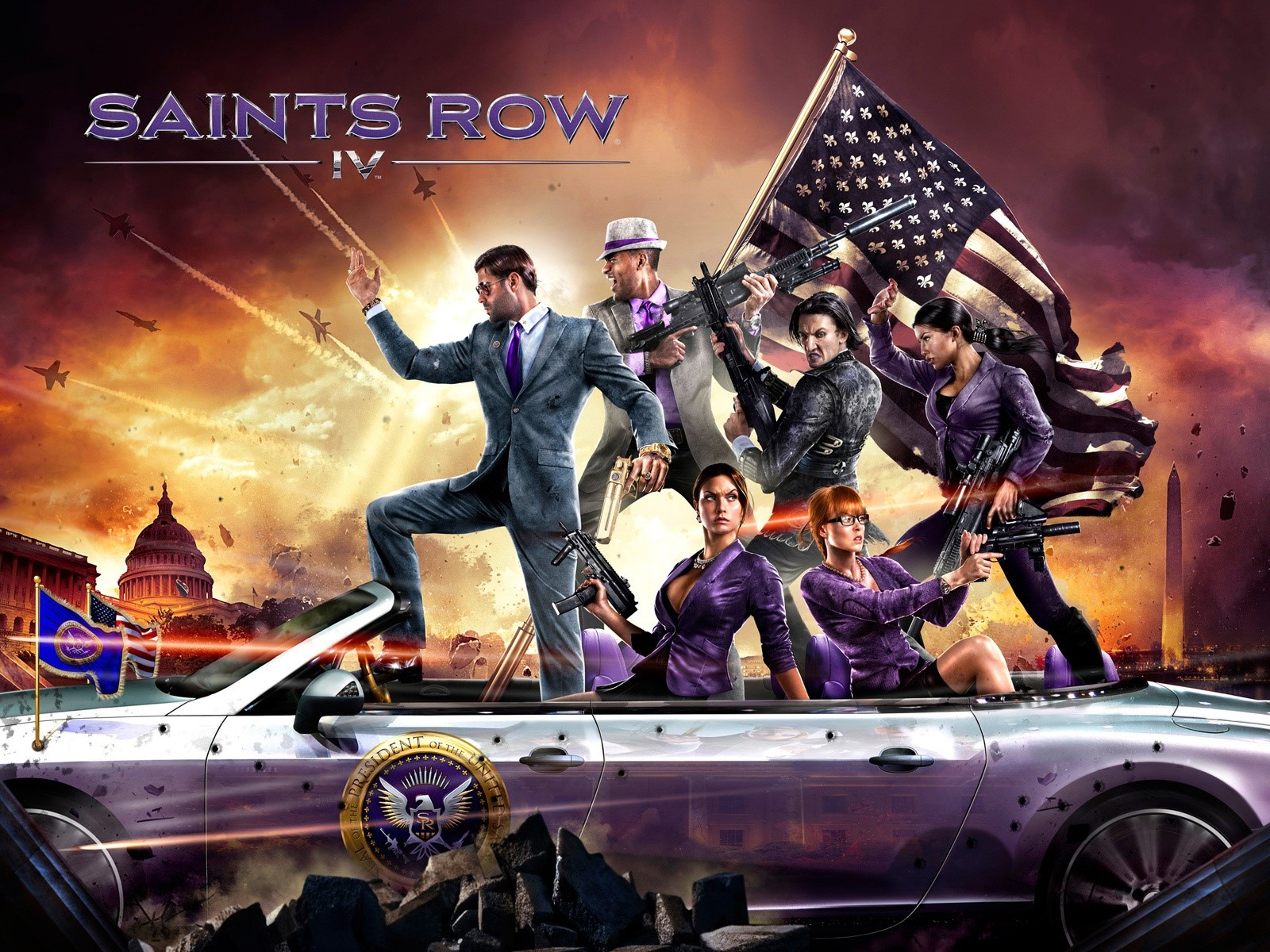 Wallpaper Saints Row 4