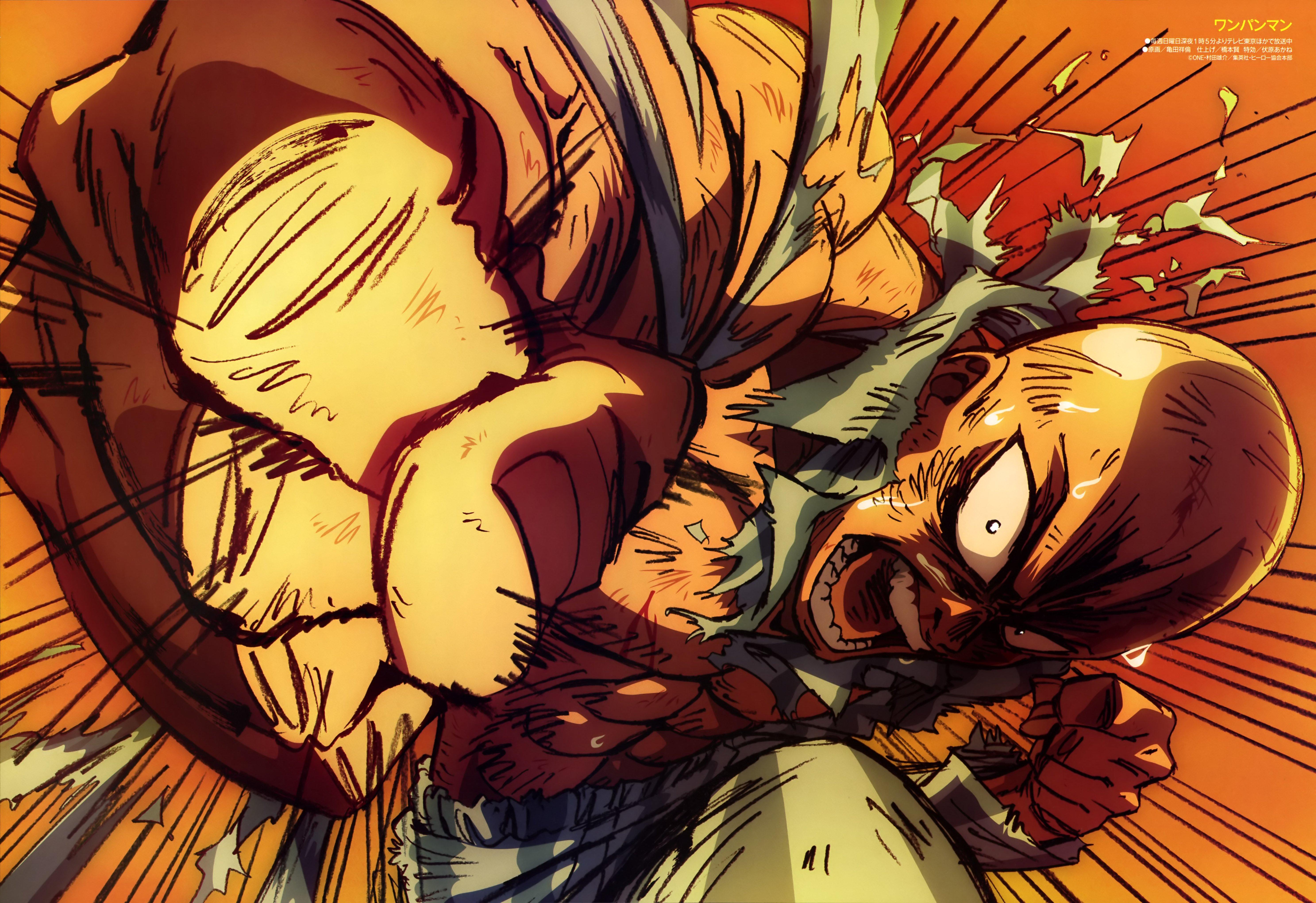 Saitama One Punch Man Anime Fondo De Pantalla Id3216