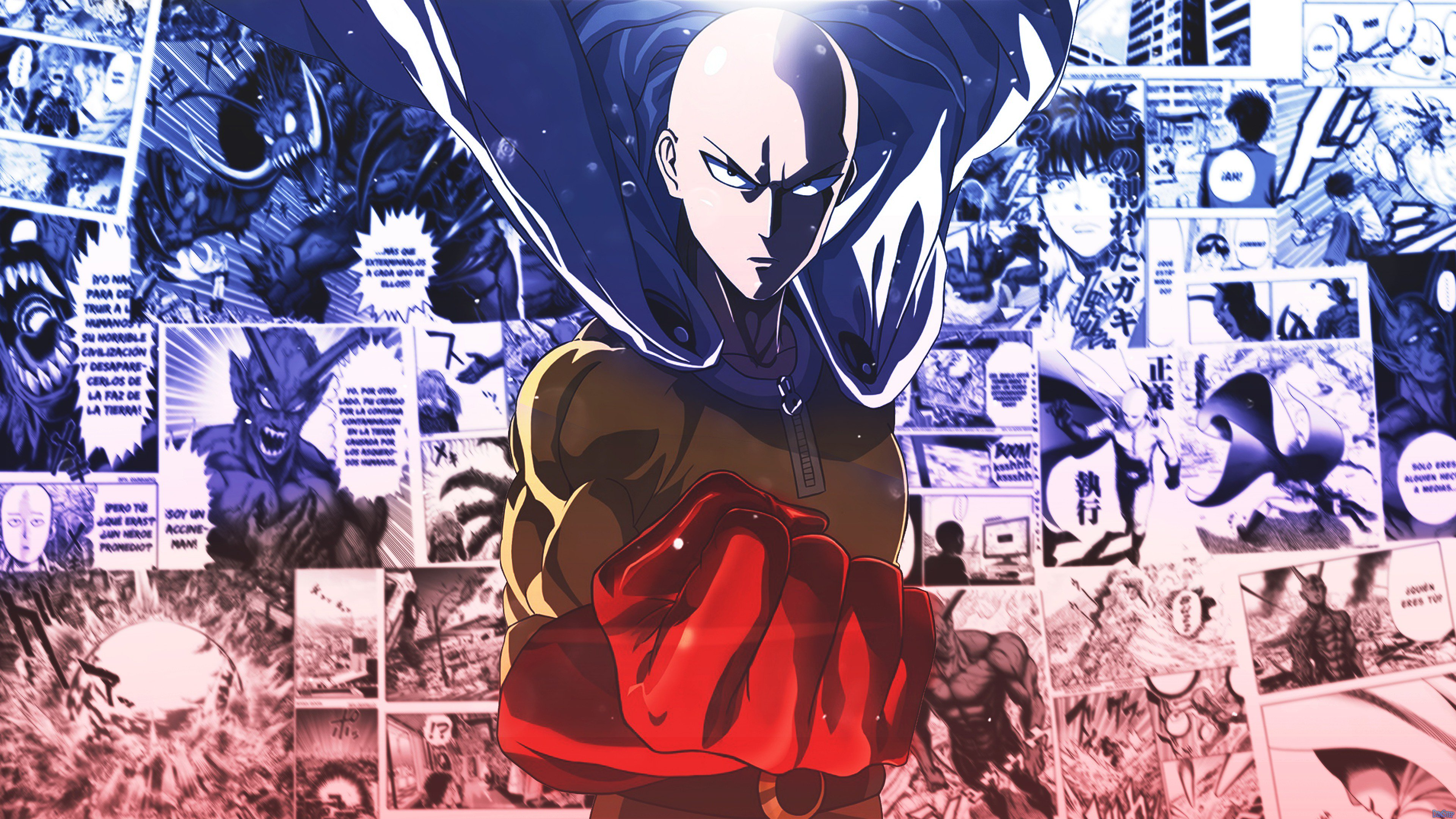 Saitama One Punch Man Anime Wallpaper 4k Ultra Hd Id3218