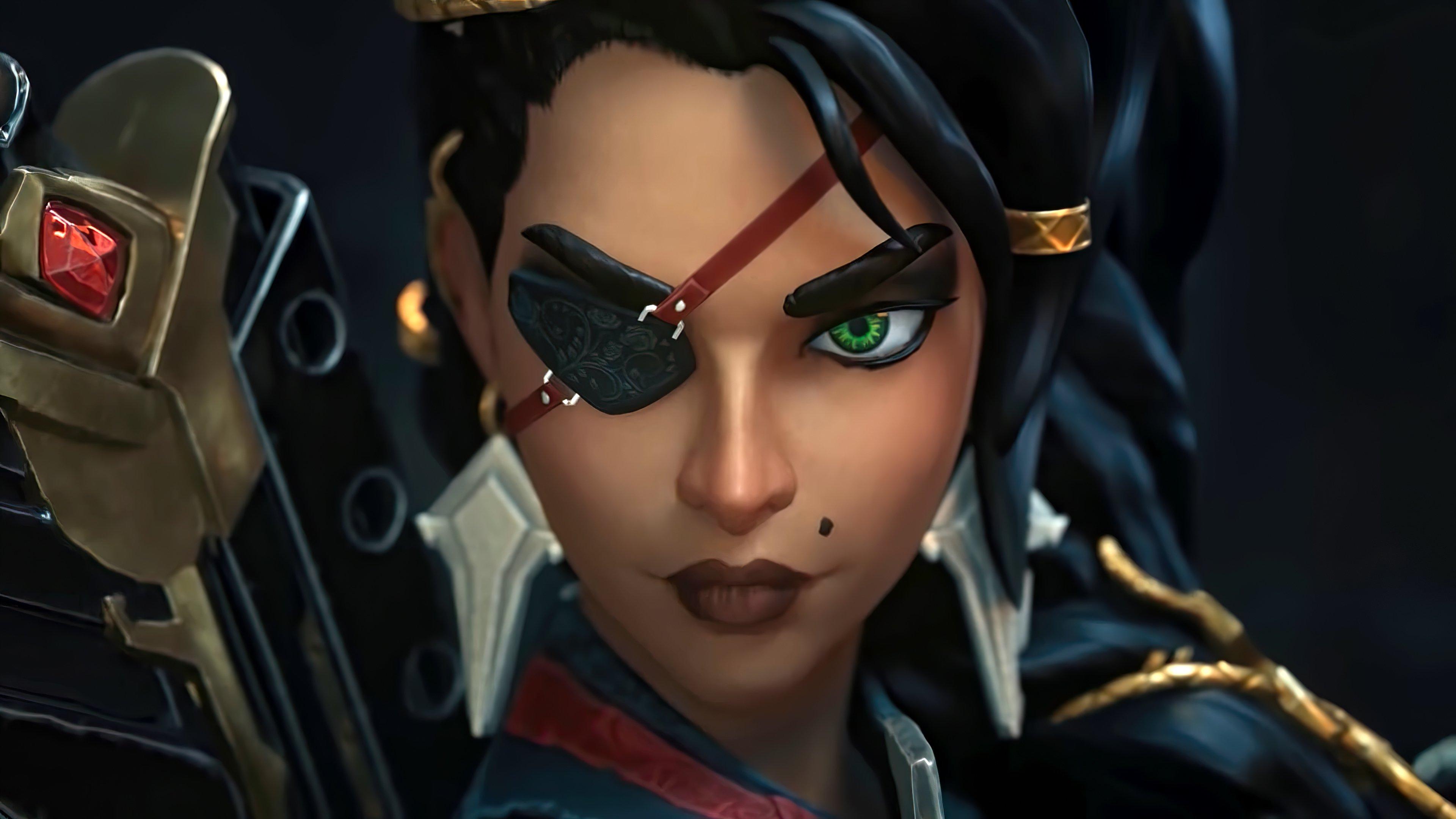 Wallpaper Samira from League of Legends