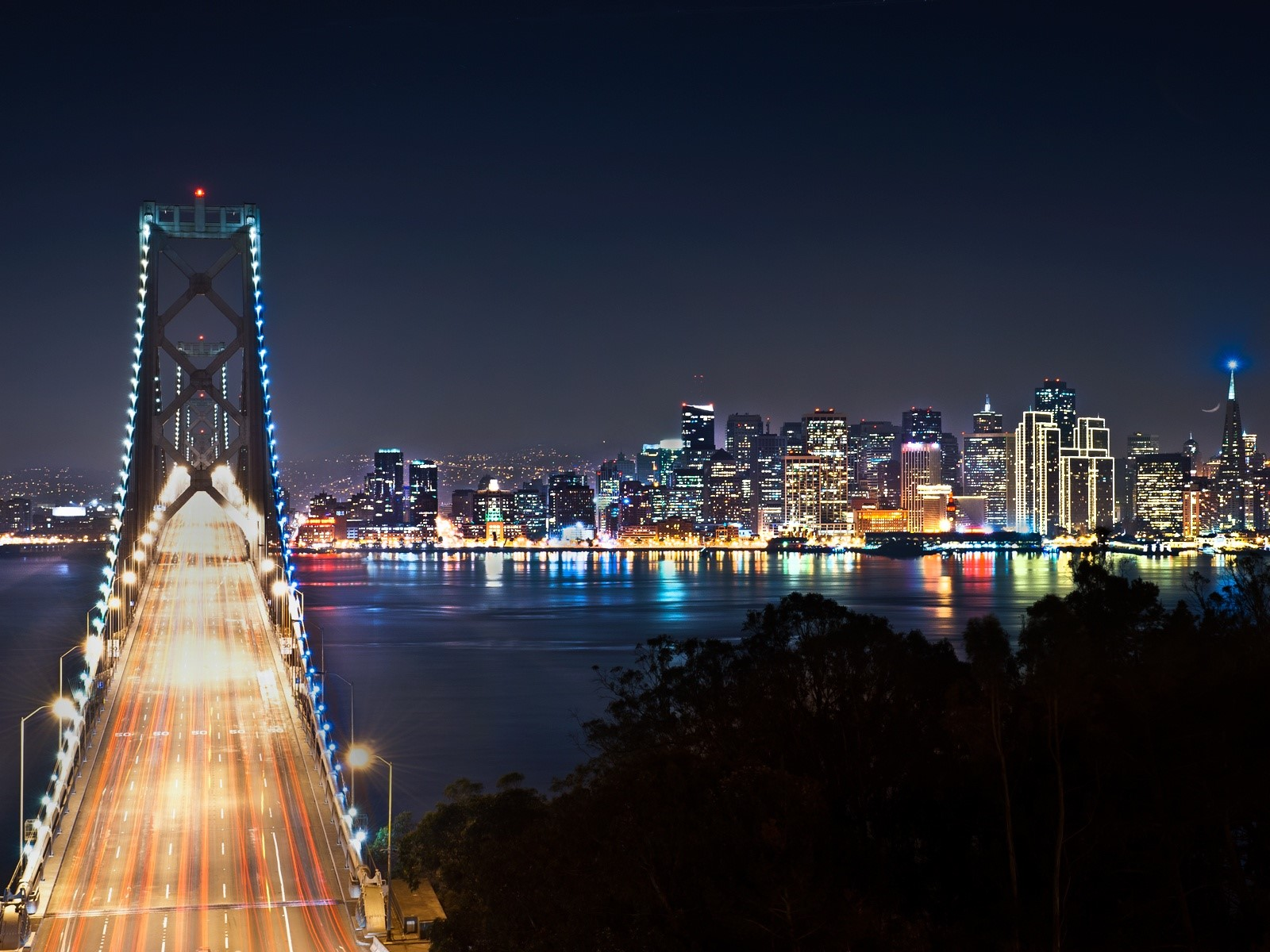 San Francisco At Night Wallpaper Id1126
