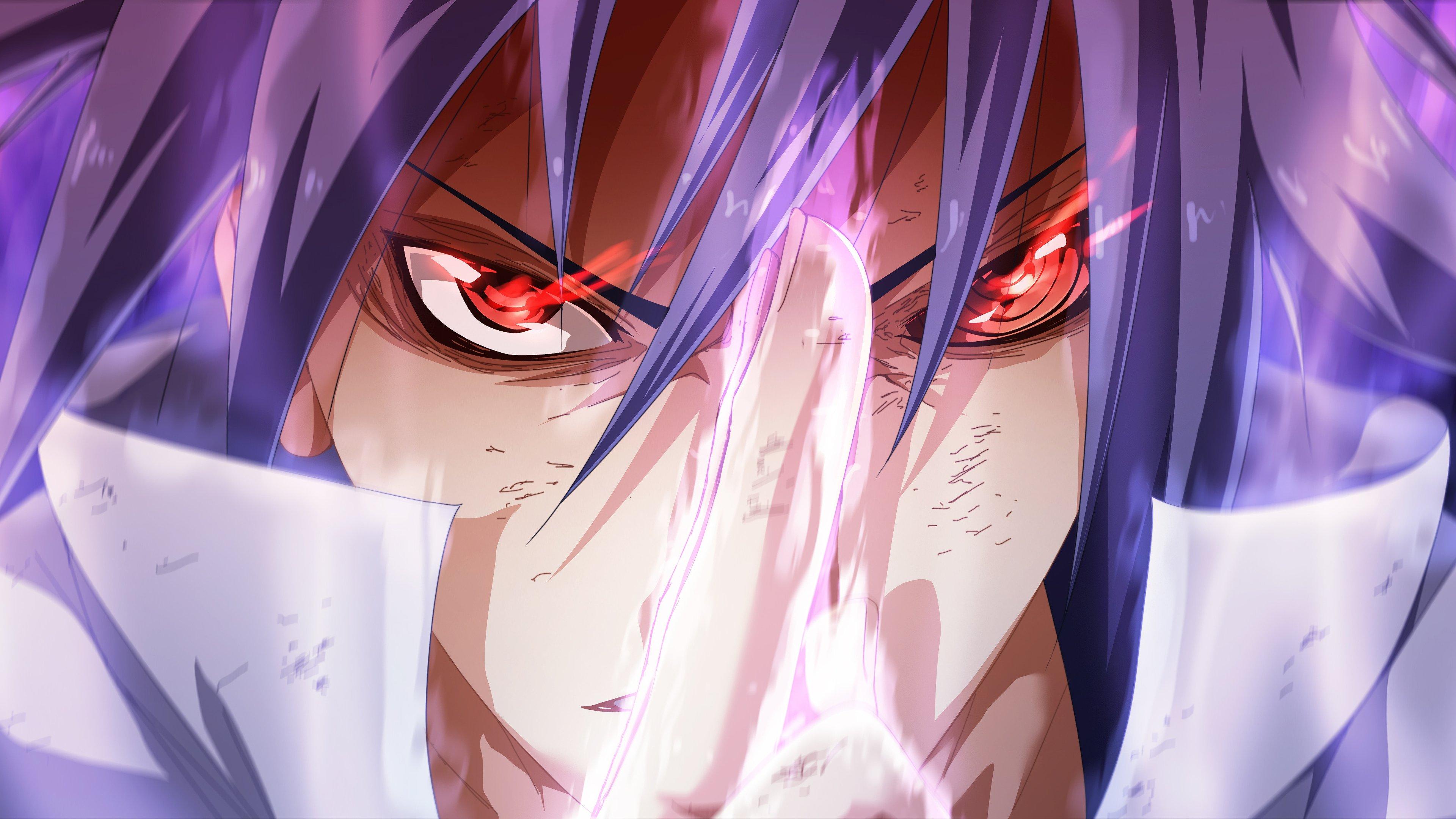 Fondos de pantalla Anime Sasuke Sharingan Rinnegan