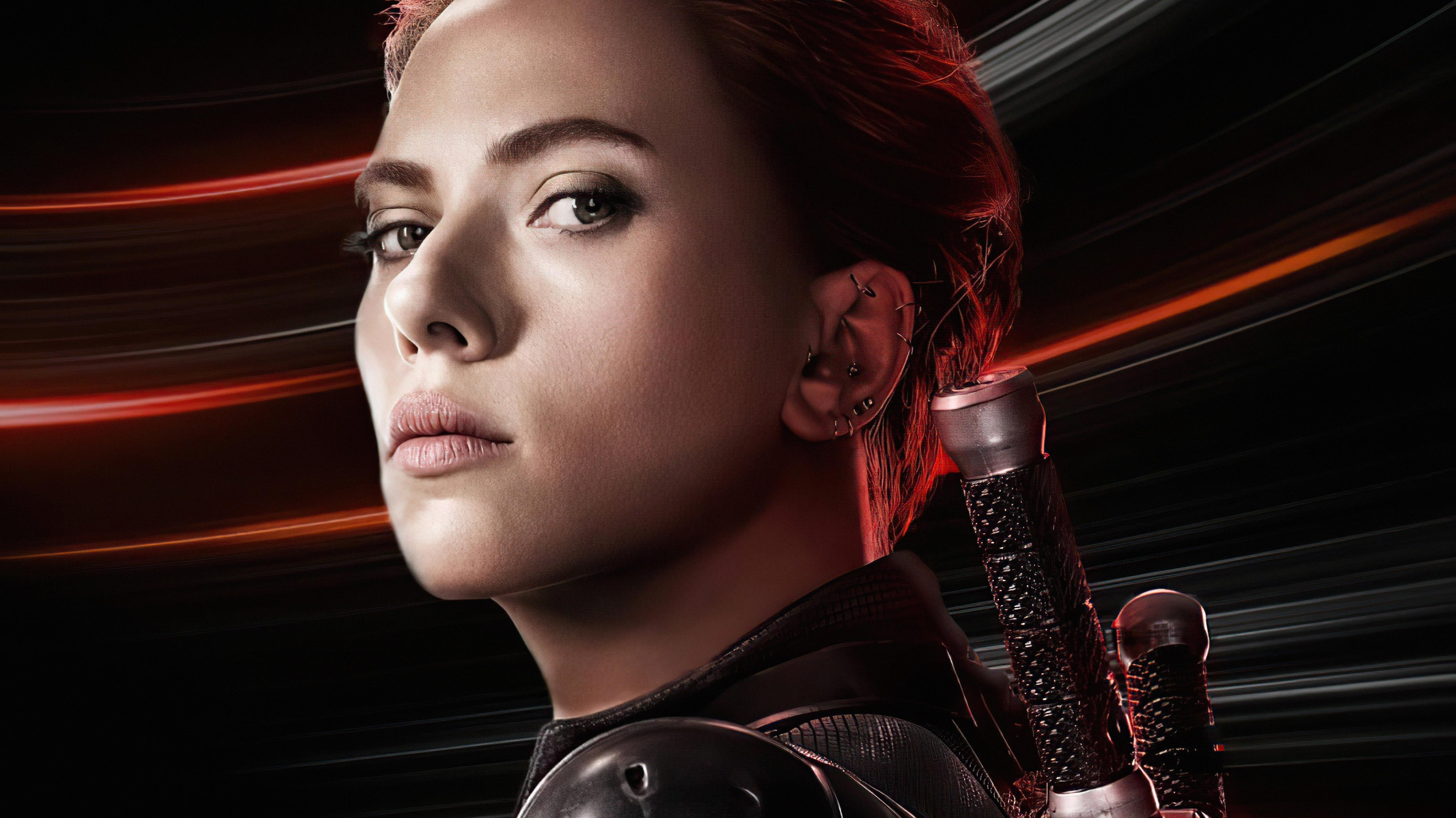 Fondos de pantalla Scarlett Johanson Viuda Negra 2021 Película