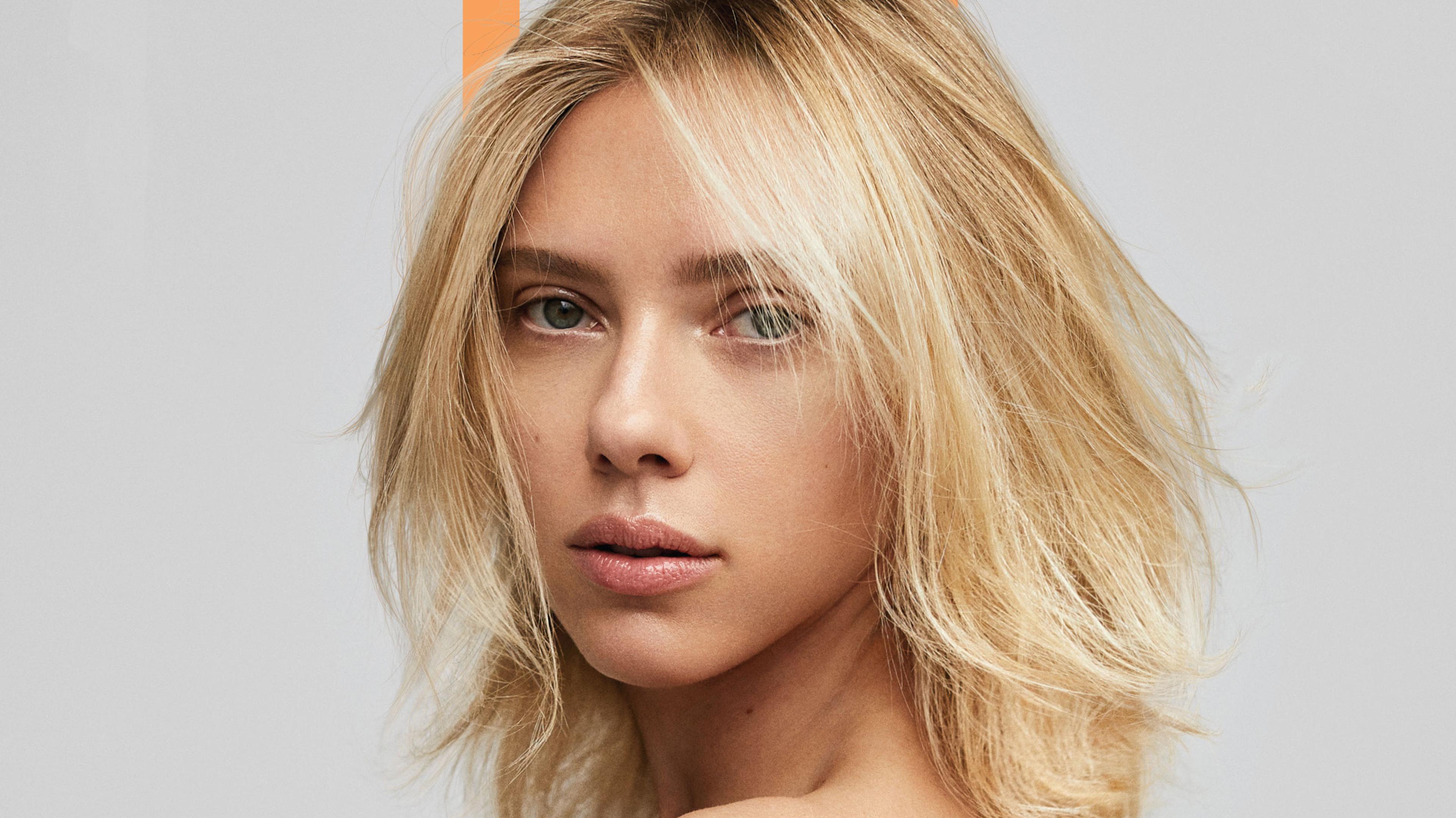 Fondos de pantalla Scarlett Johansson cabello corto