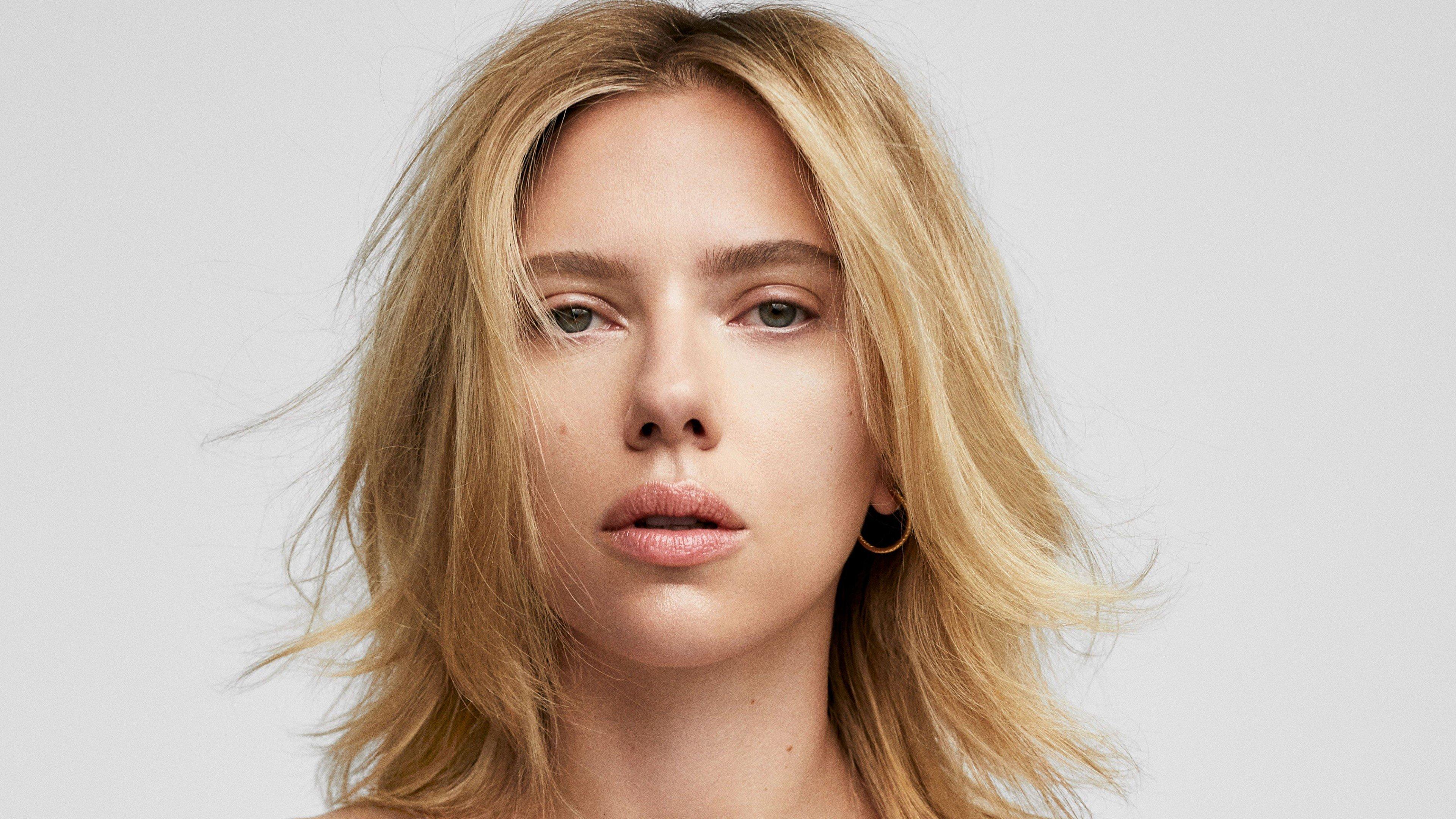 Fondos de pantalla Scarlett Johansson sin maquillaje