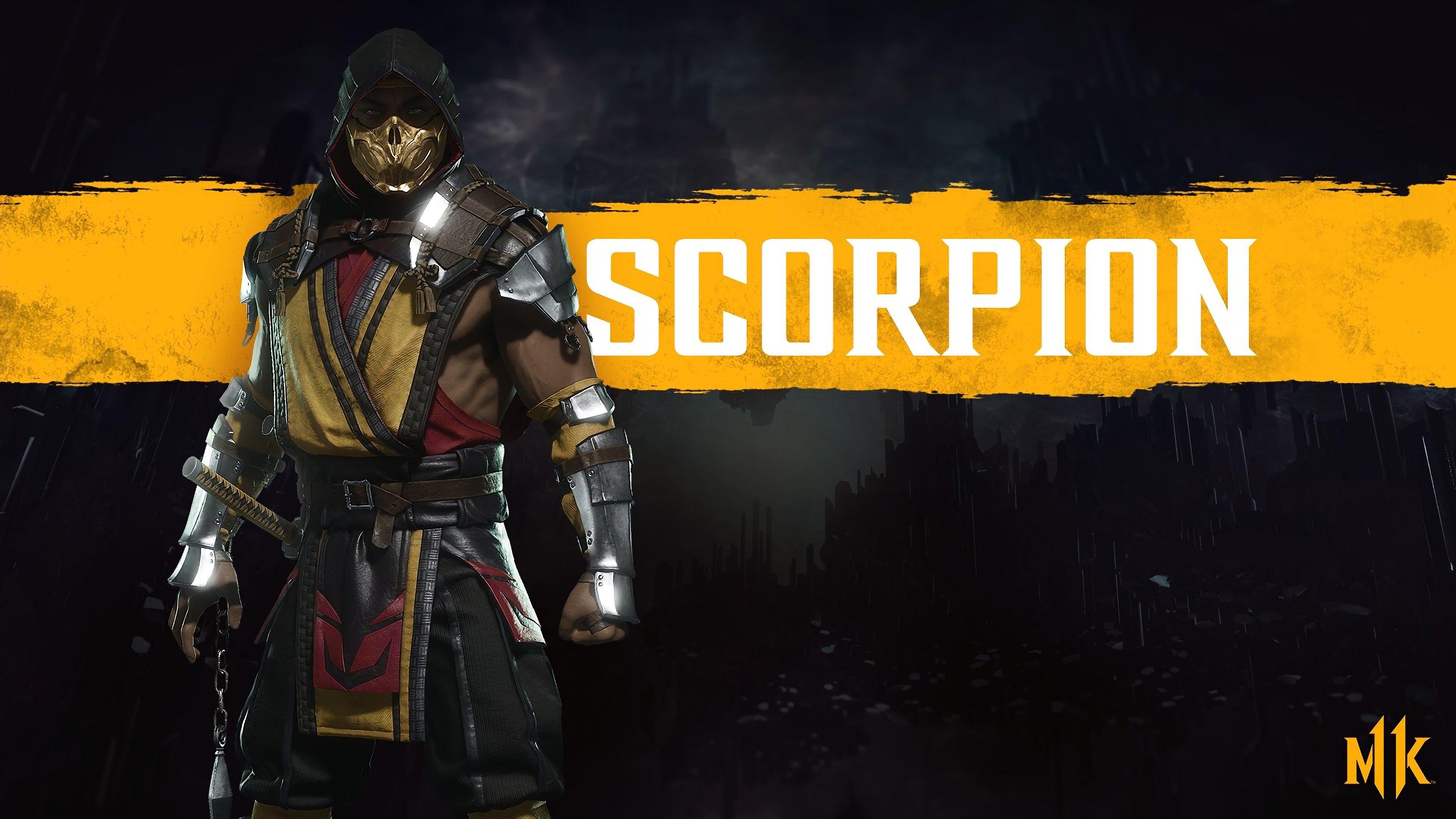 Fondos de pantalla Scorpion de Mortal Kombat