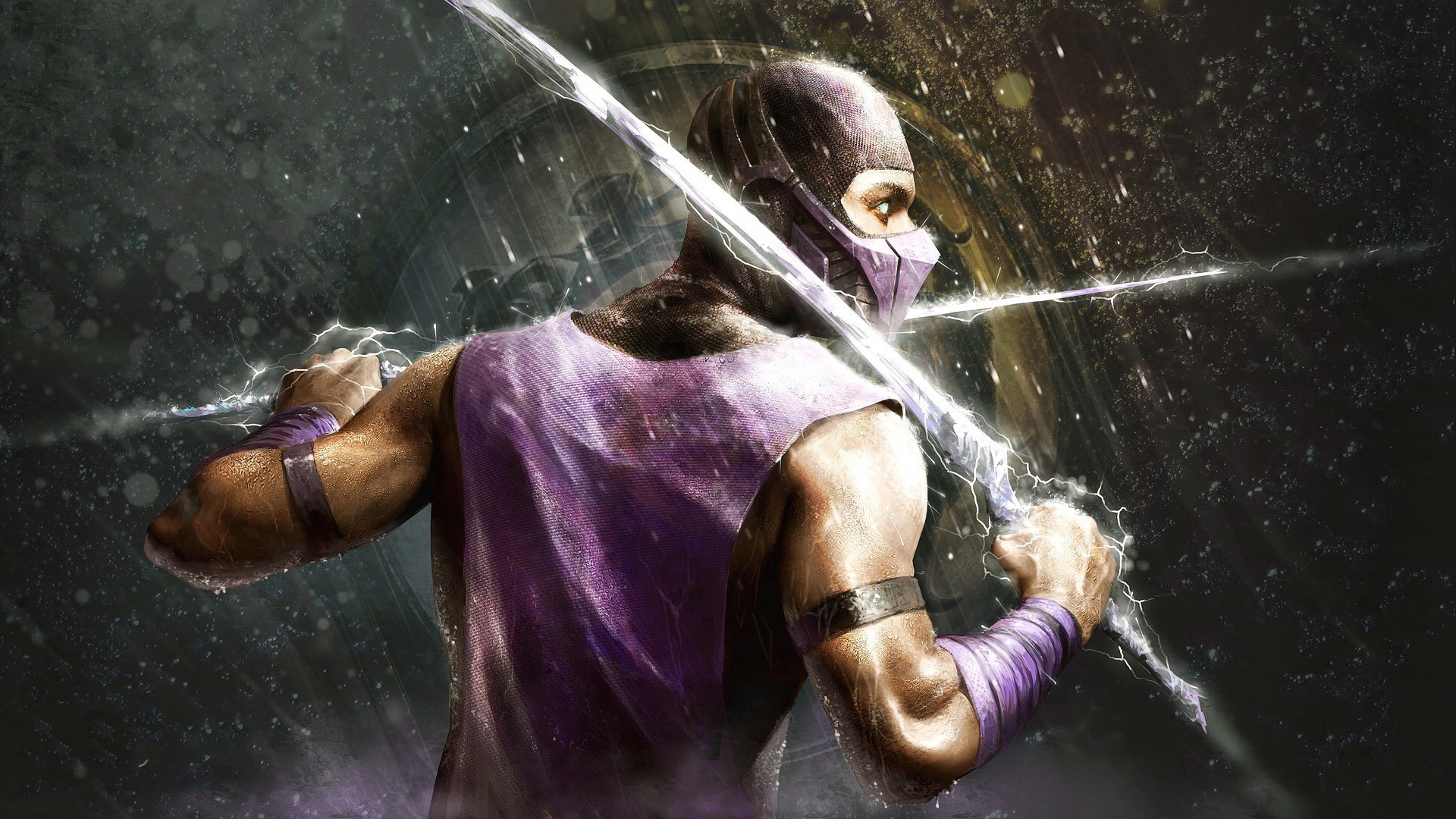 Wallpaper Scorpion in Mortal Kombat