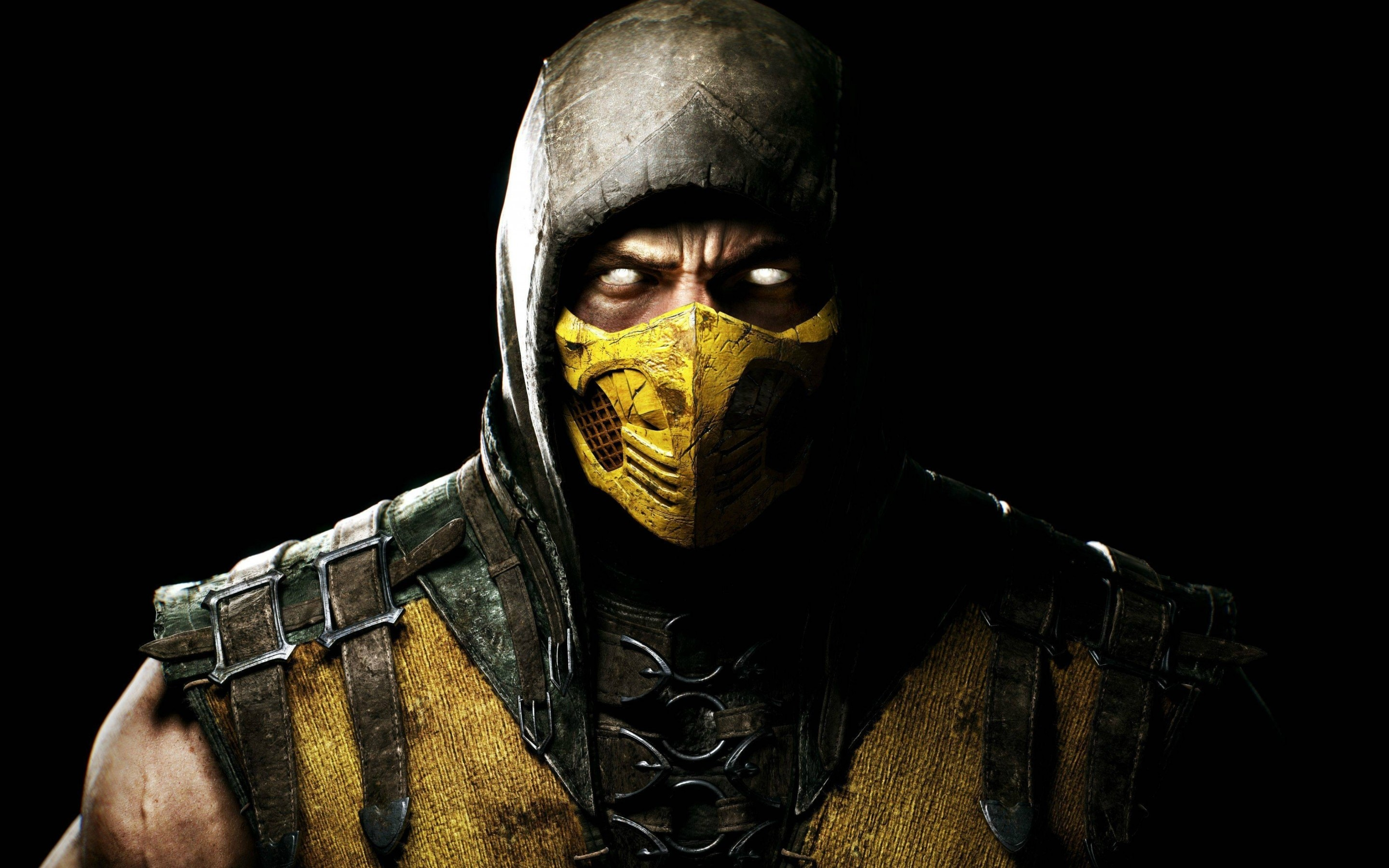 Wallpaper Scorpion in Mortal Kombat X