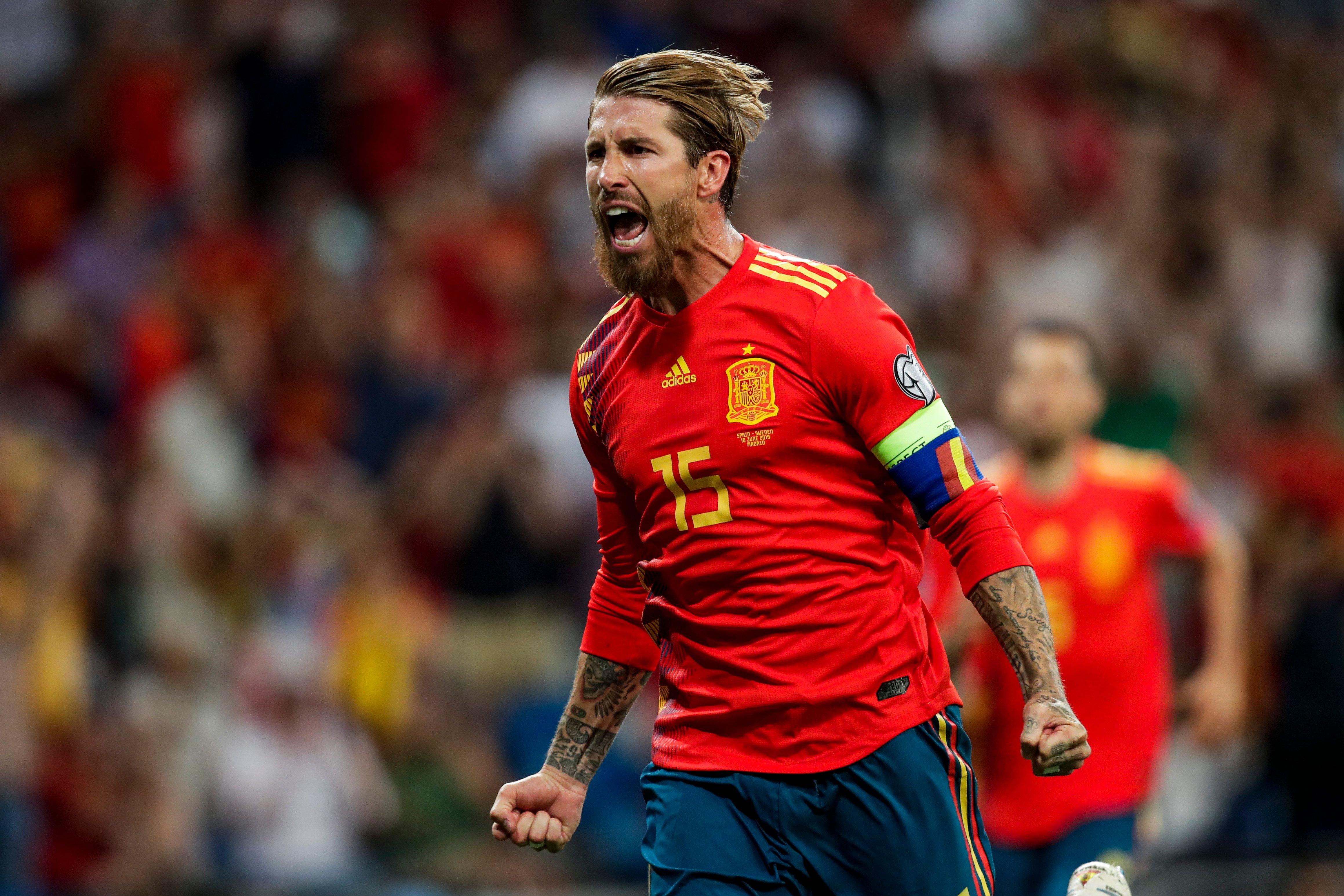 Fondos de pantalla Sergio Ramos en la Selección Española