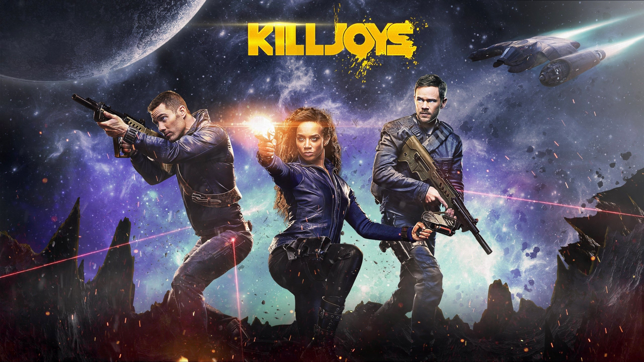 Wallpaper Killjoys series