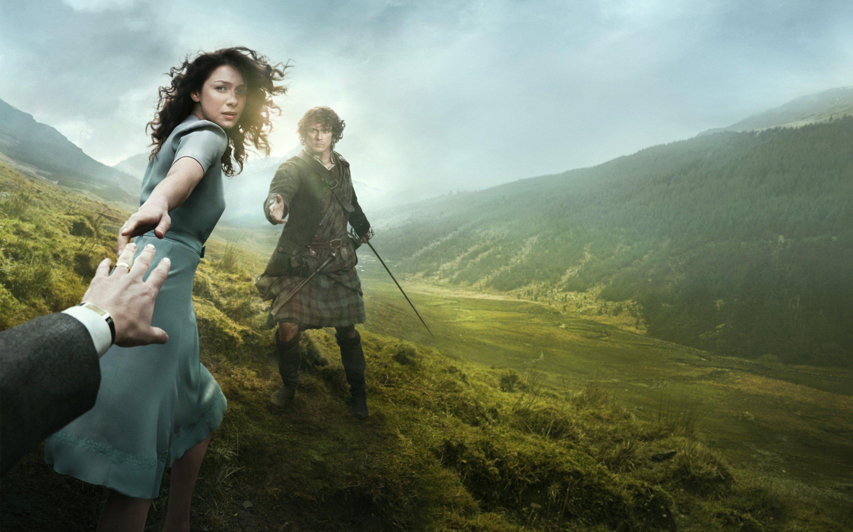 Wallpaper Outlander 2014 series