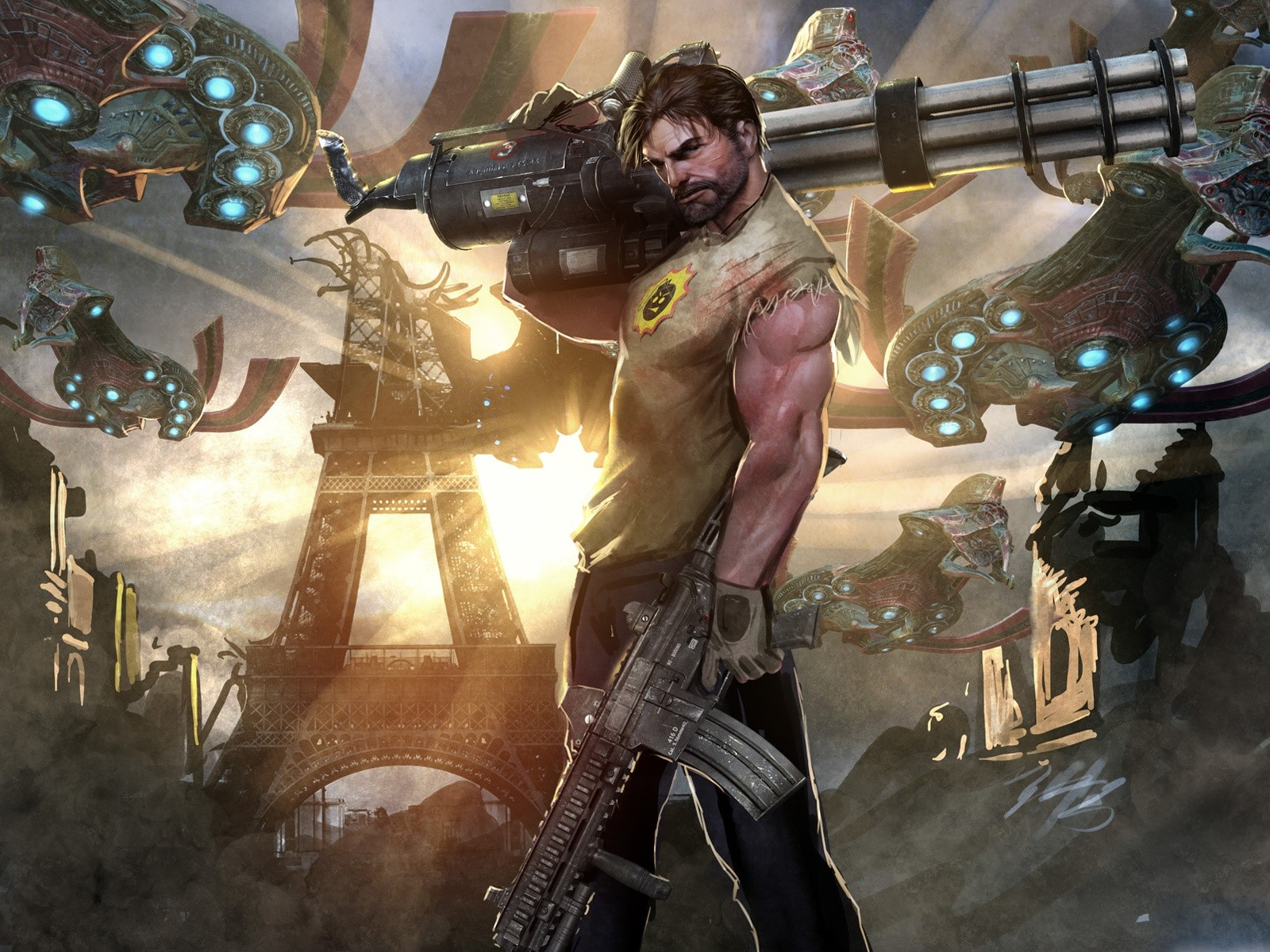 Wallpaper Serious Sam 4 Images
