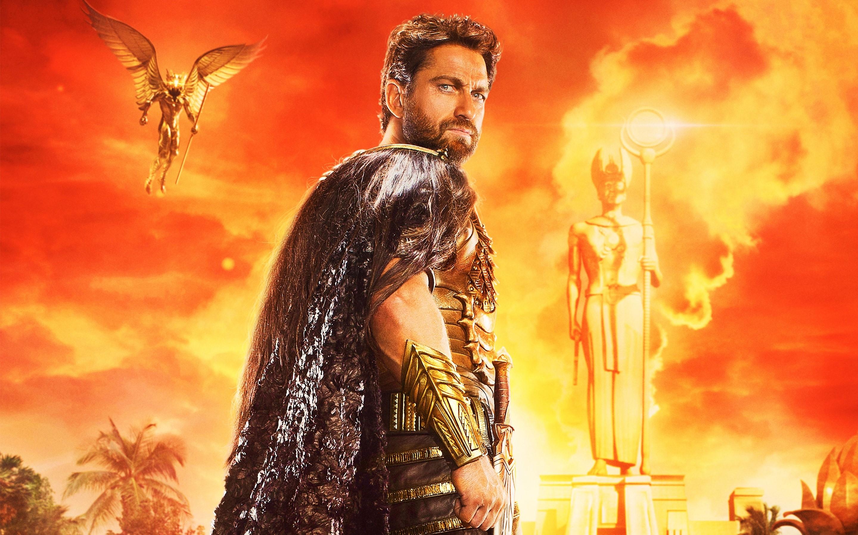 Wallpaper Set, God of the desert of the Gods of Egypt