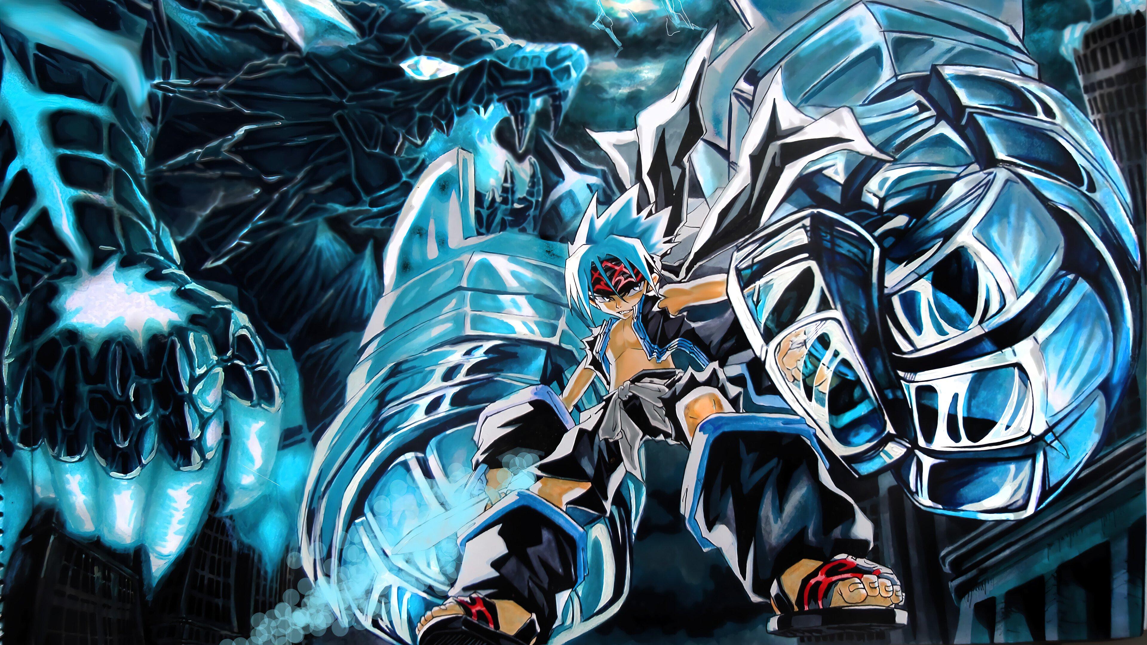 Fondos de pantalla Anime Shaman King Horohoro