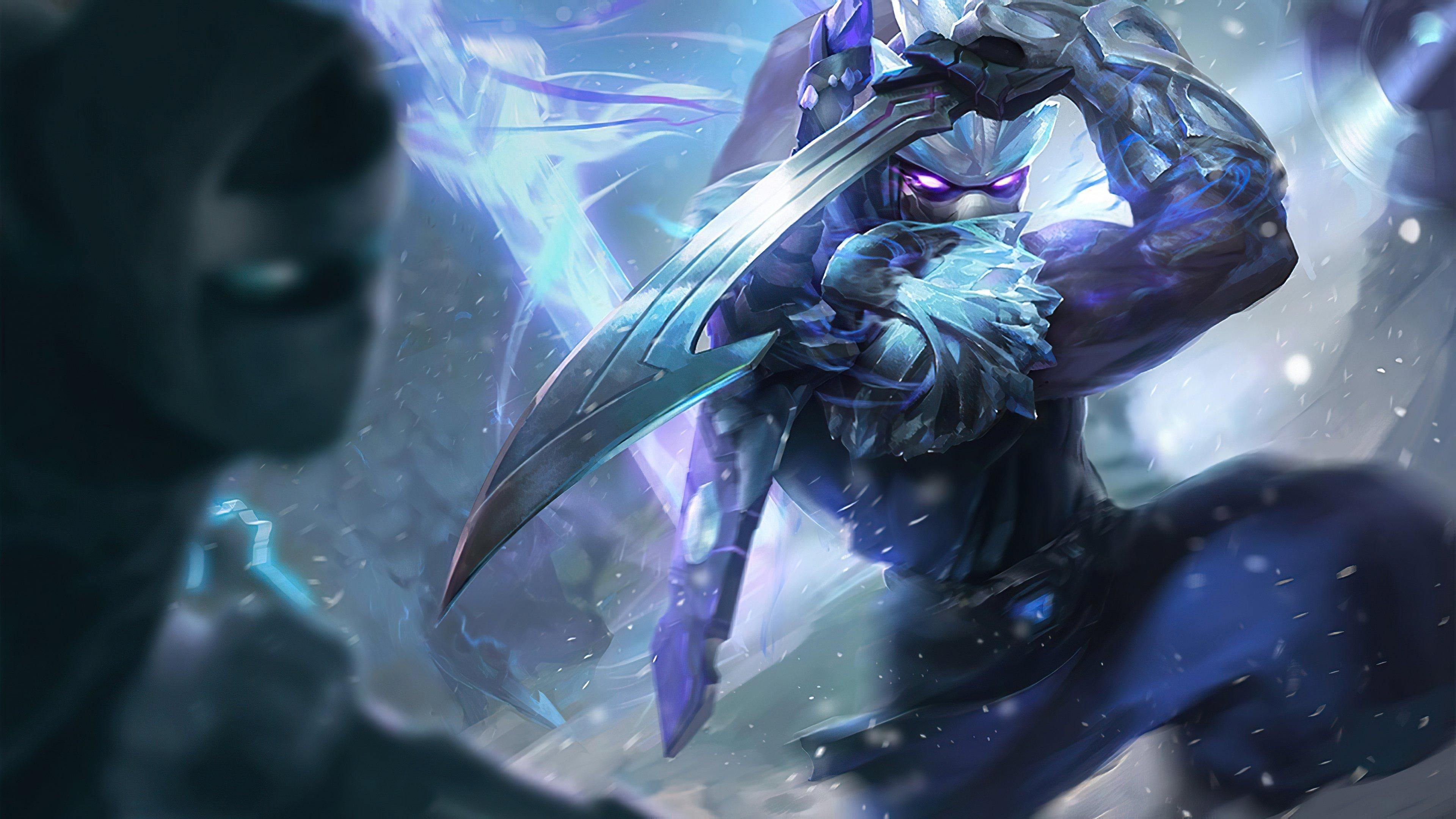 Wallpaper Shen from League of Legends