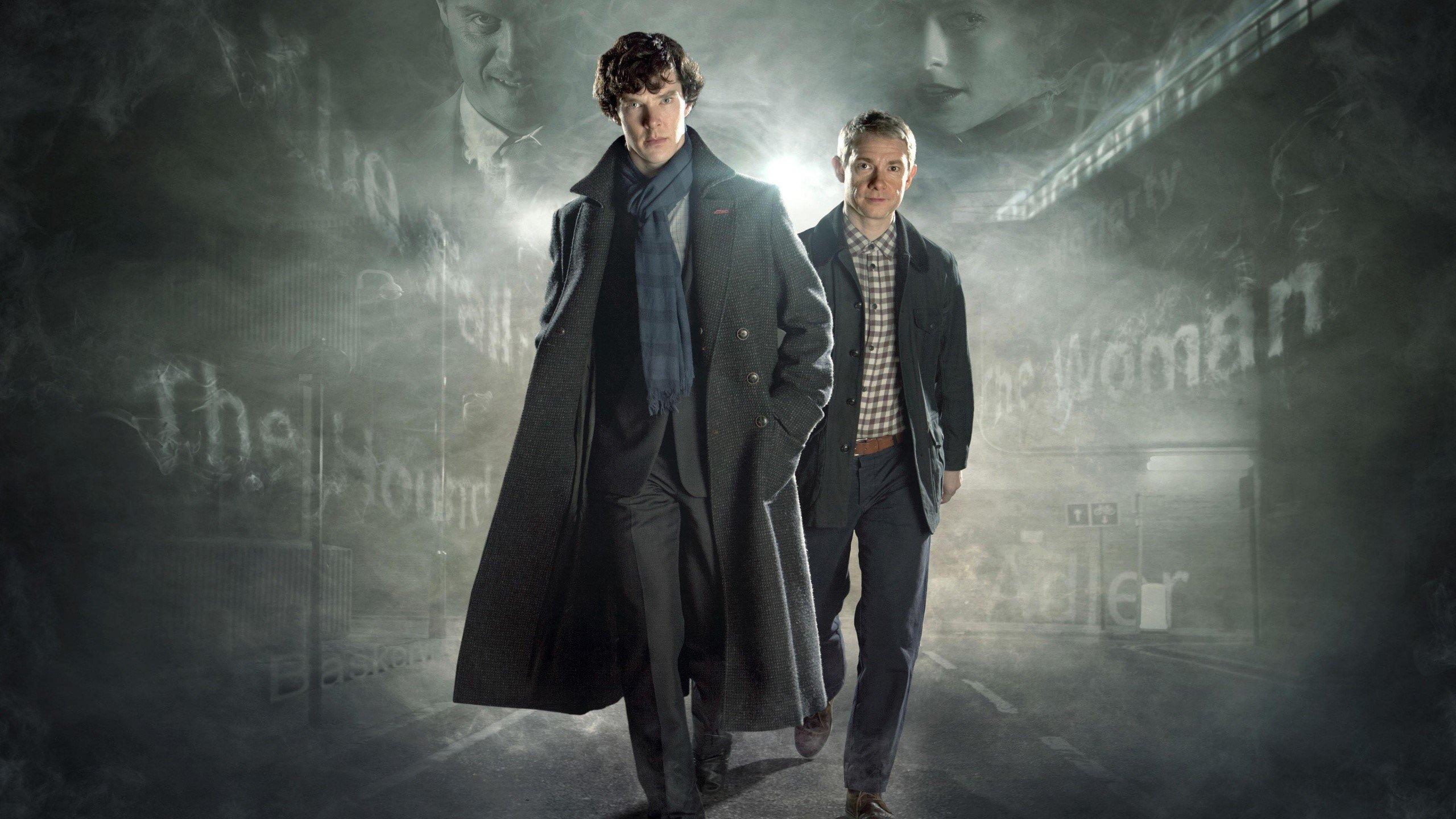 Wallpaper Sherlock and Watson