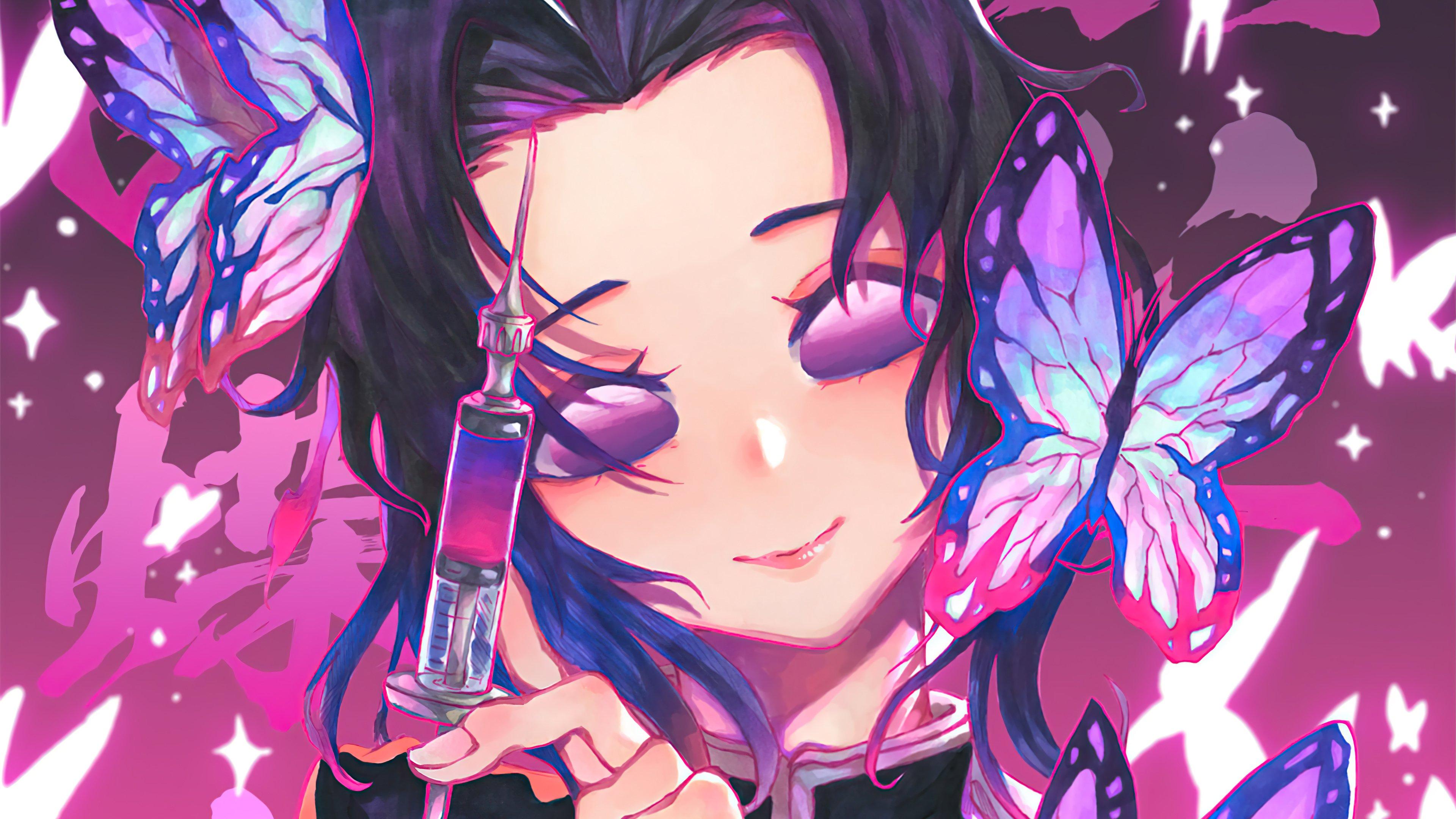 Fondos de pantalla Anime Shinobu Kosho de Kimetsu no Yaiba