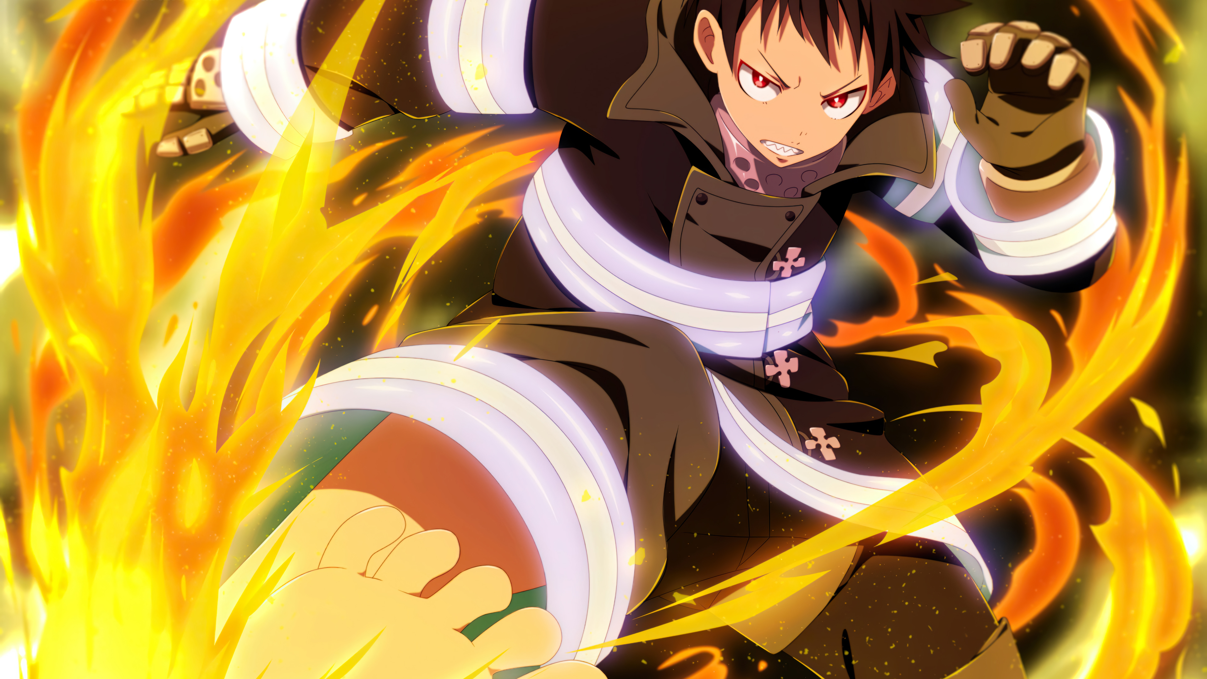 Shinra Kusakabe Fire Force Wallpaper 4k Ultra Hd Id 6531 Fire force ringtones and wallpapers. shinra kusakabe fire force wallpaper 4k