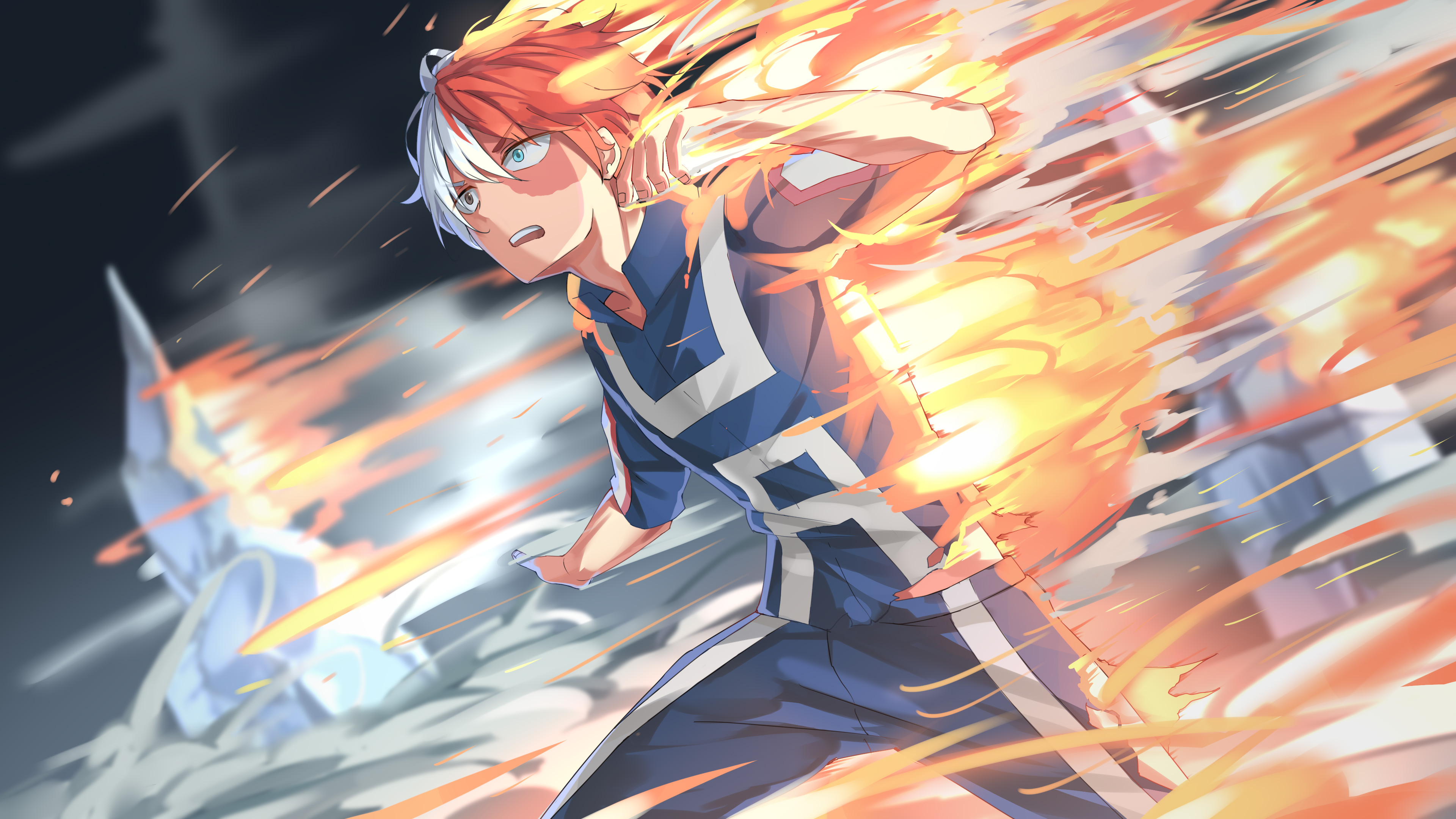 Fondos de pantalla Anime Shoto Todoroki de My Hero Academia