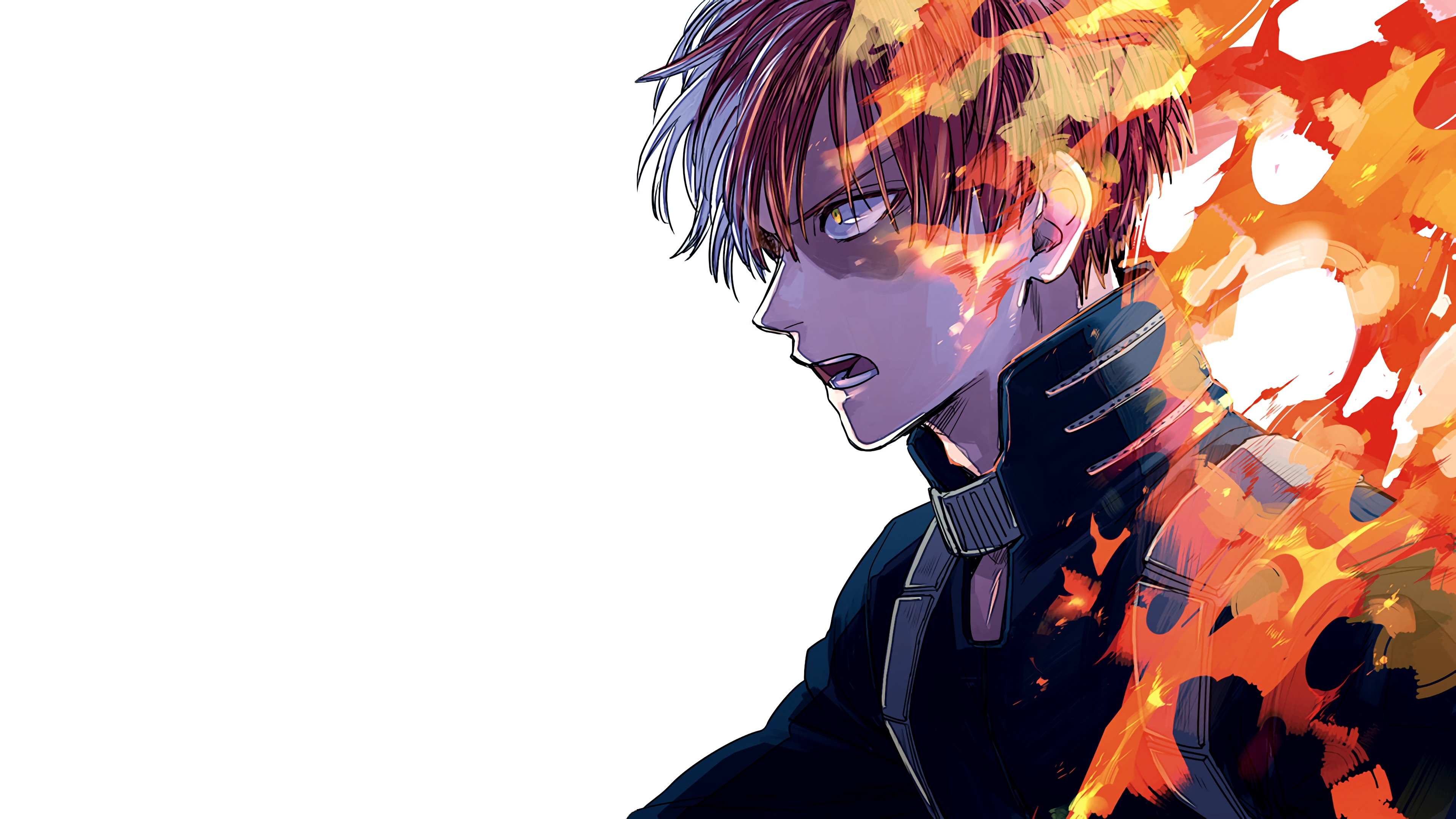 Shoto Todoroki My Hero Academia Anime Wallpaper 4k Ultra Hd Id 3368