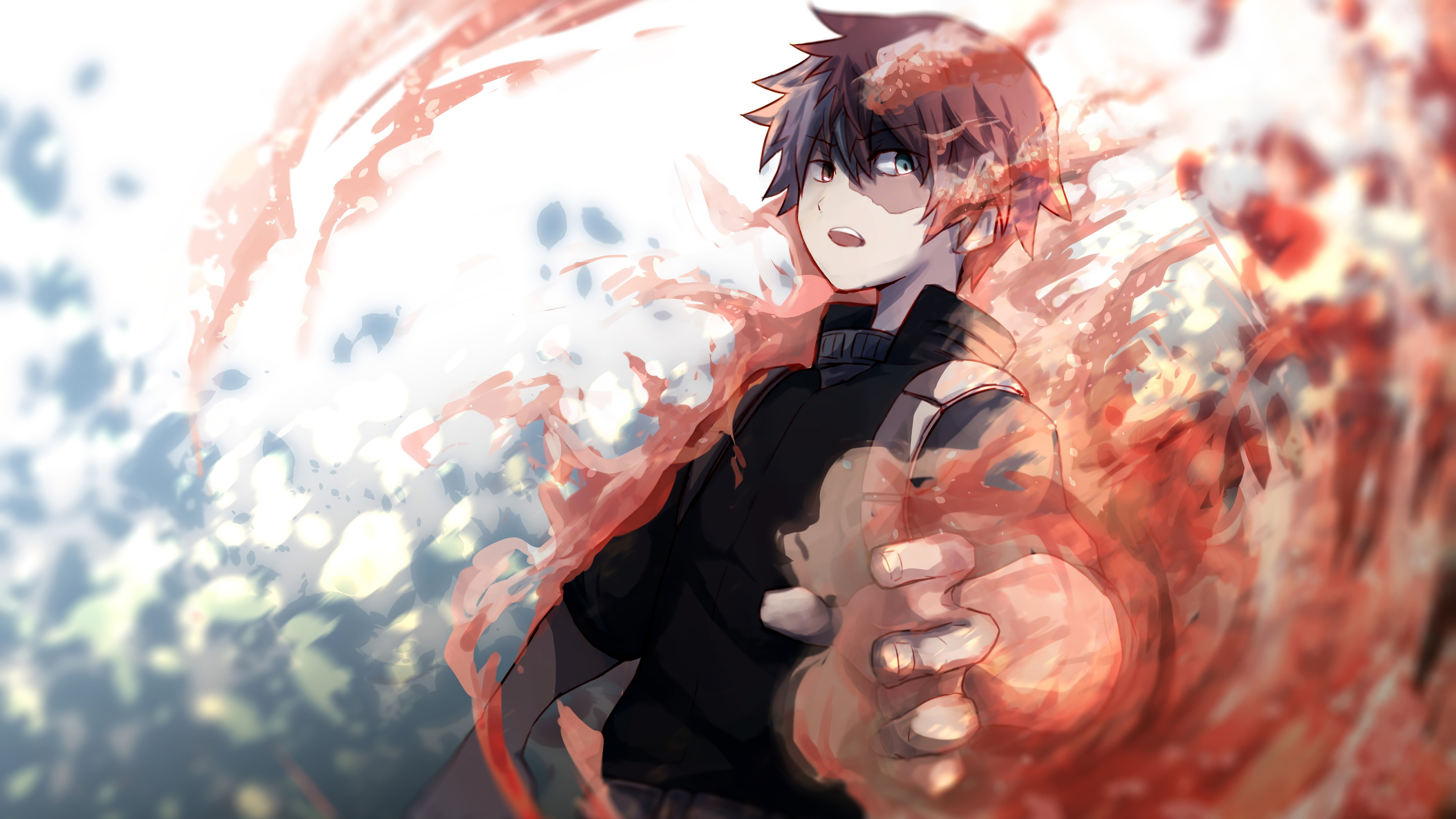 Fondos de pantalla Anime Shouto Todoroki My Hero Academia