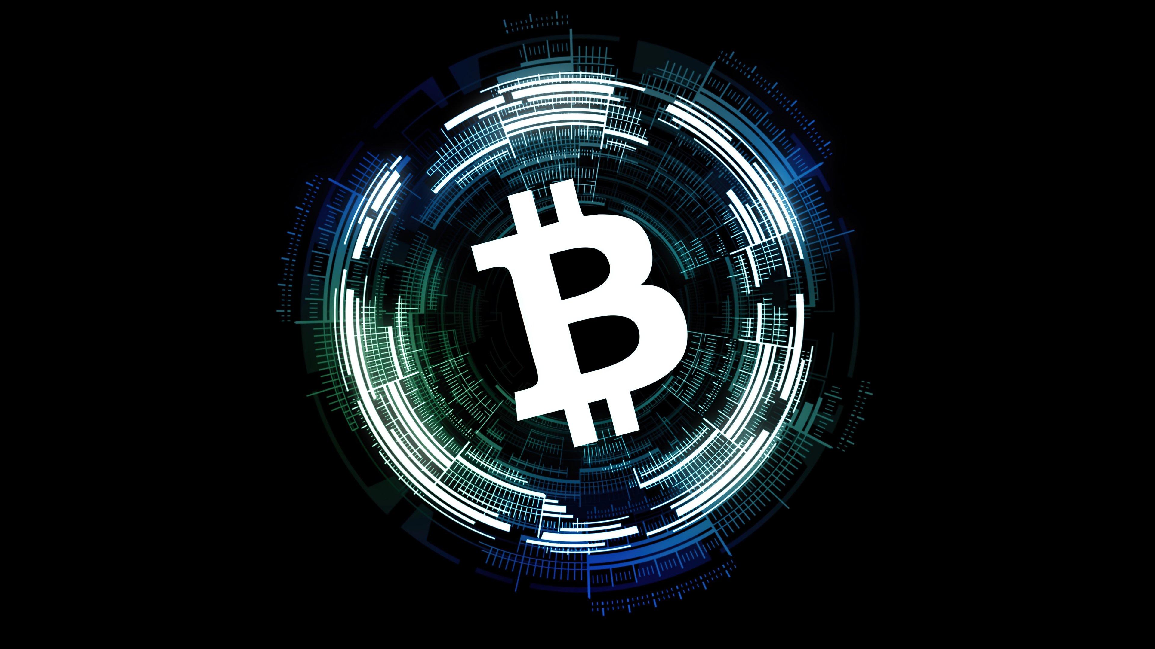 Fondos de pantalla Signo de Bitcoin